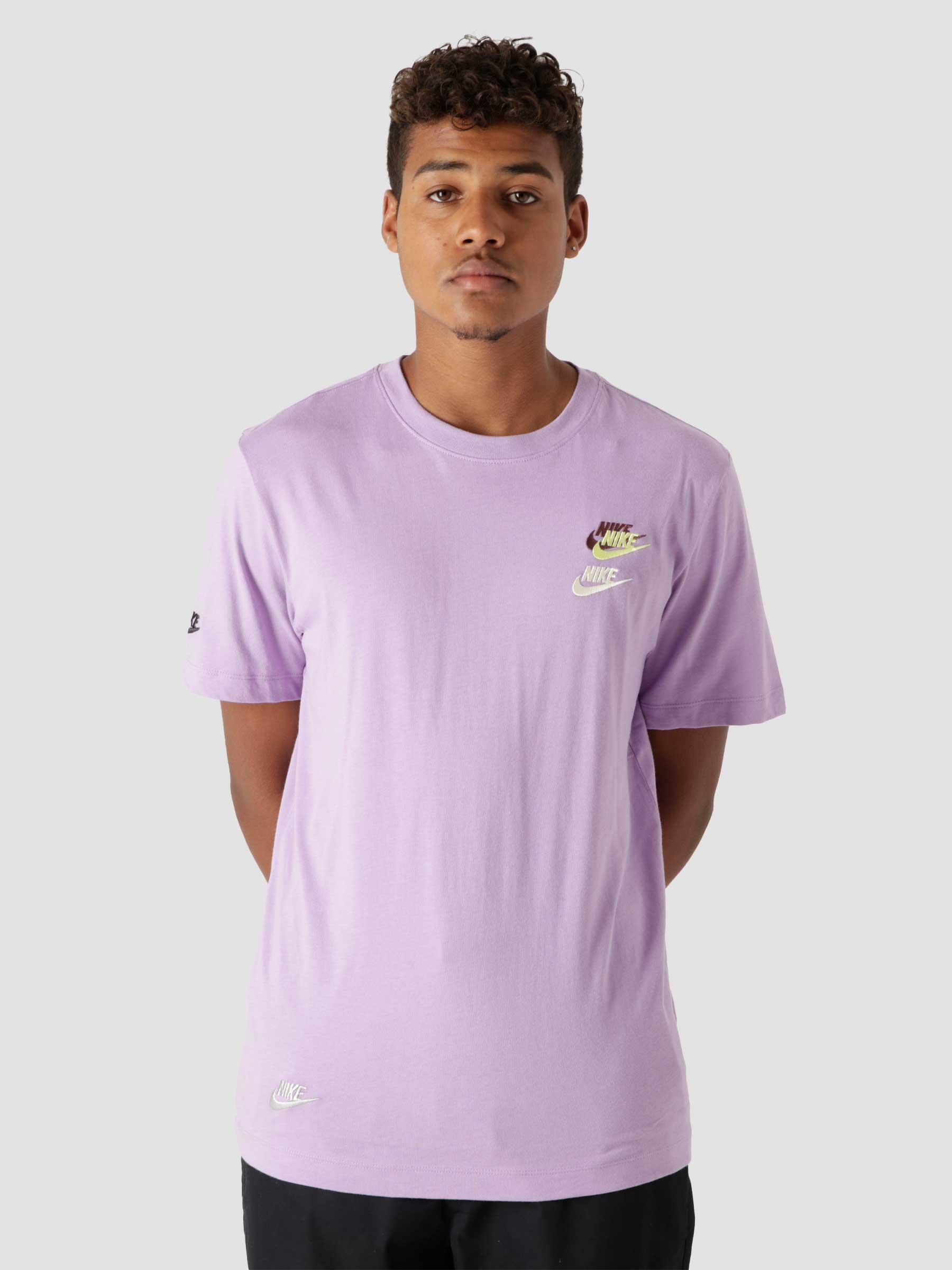 M Nsw T Shirt Club Essentials Violet Star DJ1568-589