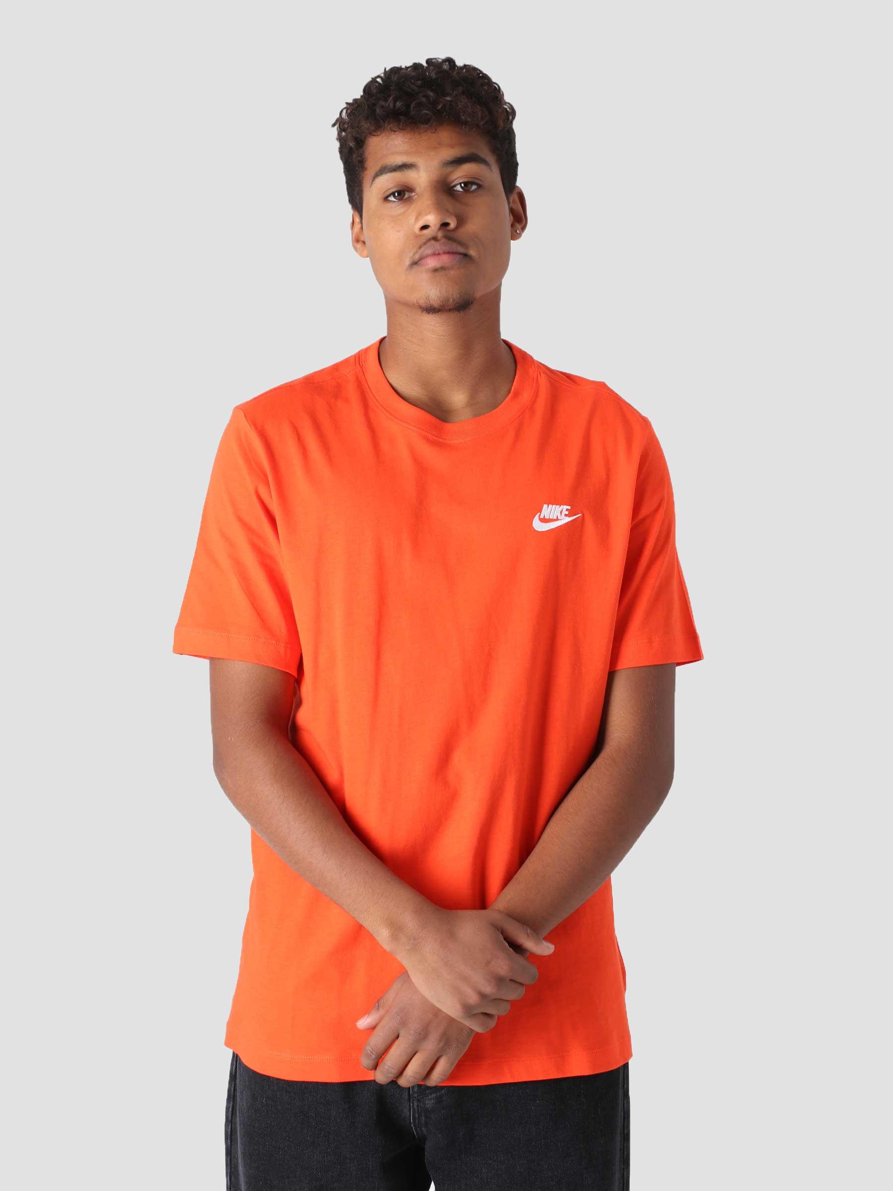 Sportswear T-Shirt Team Orange White Ar4997-891