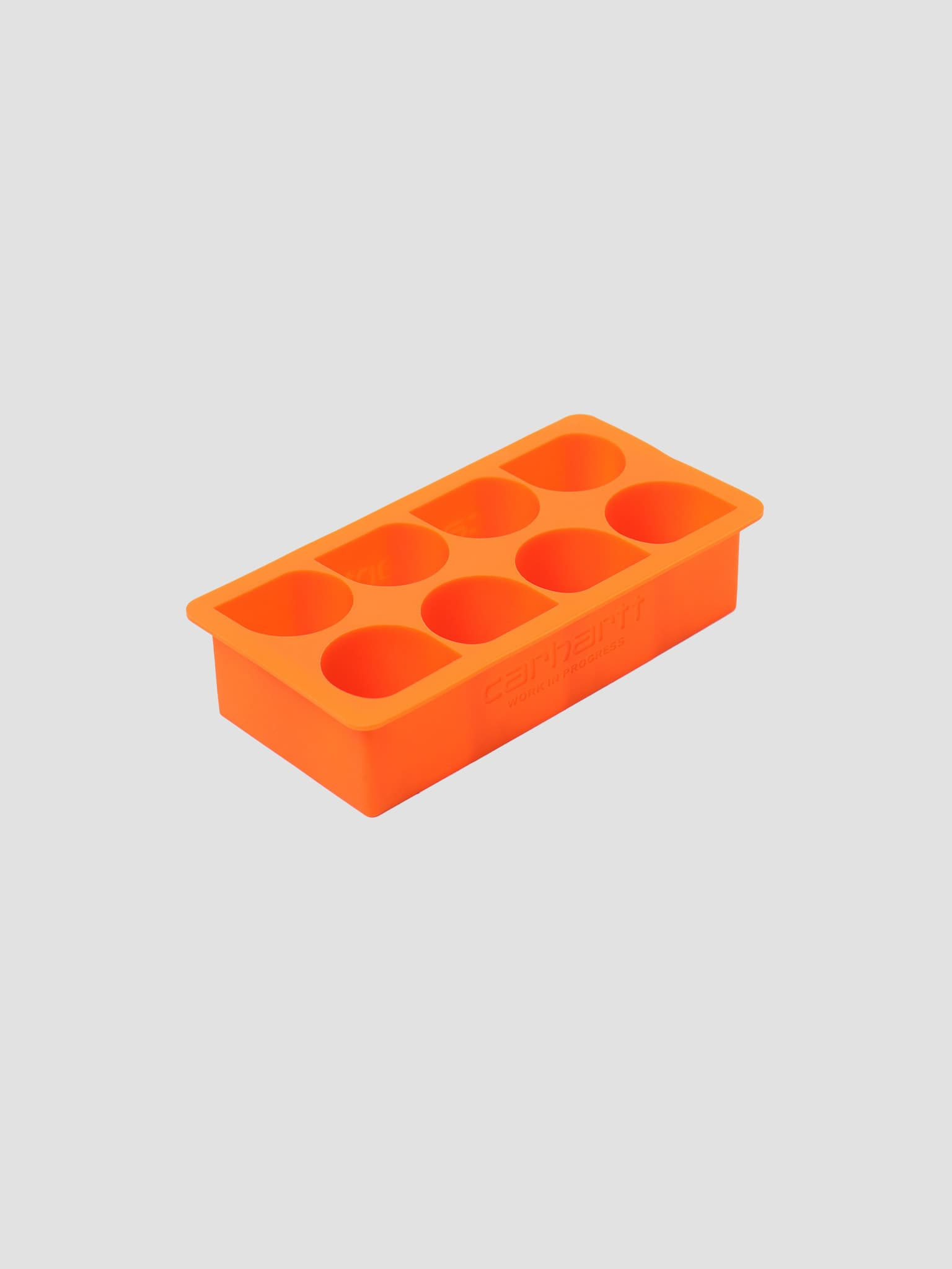 C Logo Ice Cube Tray Carhartt Orange I026757-X400