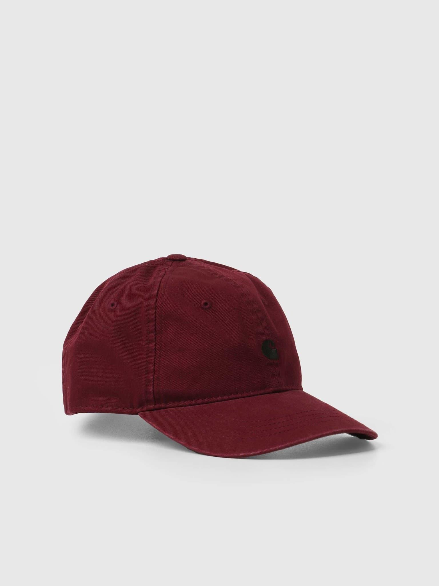Madison Logo Cap Jam Black I023750
