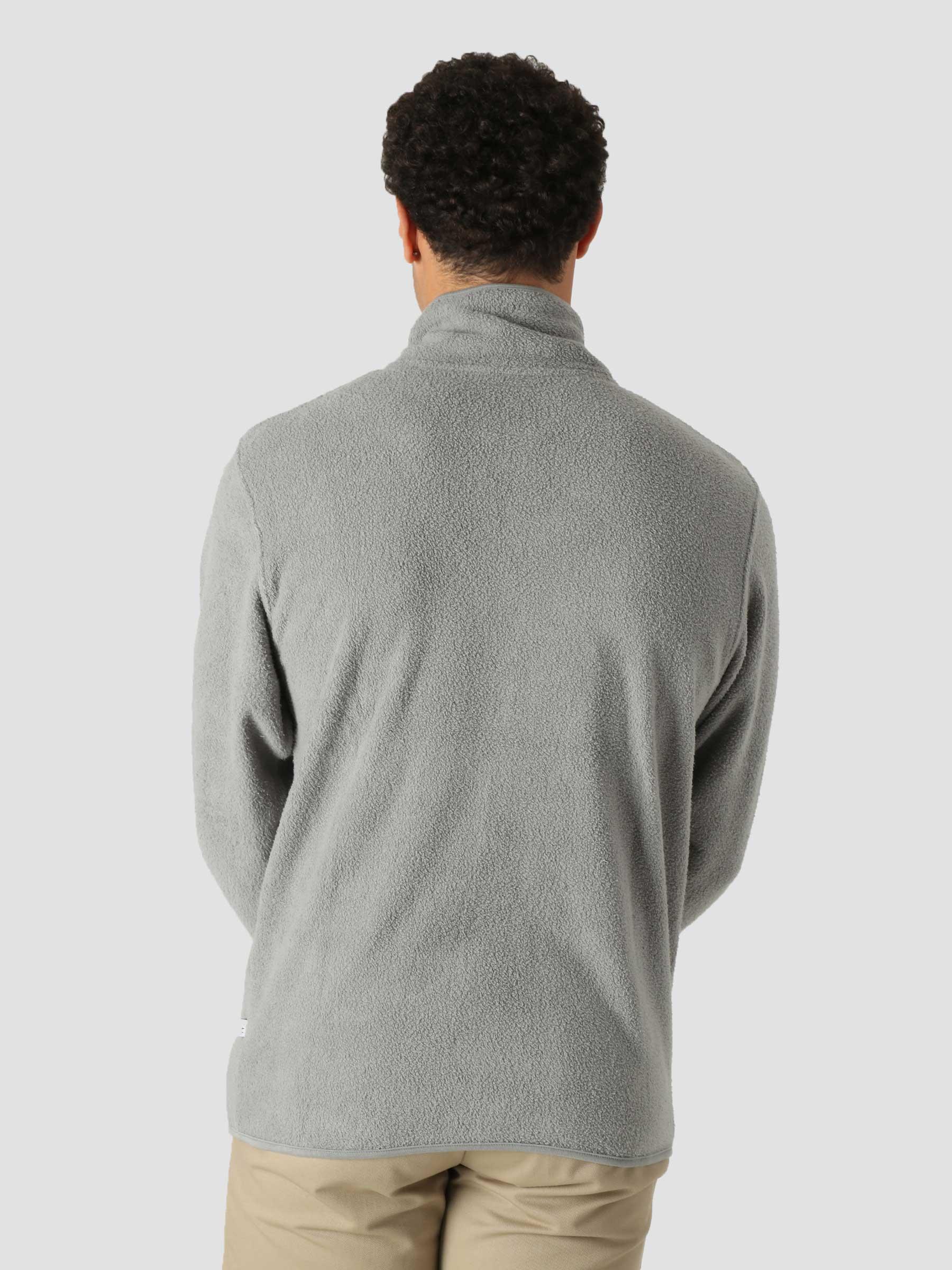 QB97 Full Zip Track Fleece Grey Heather