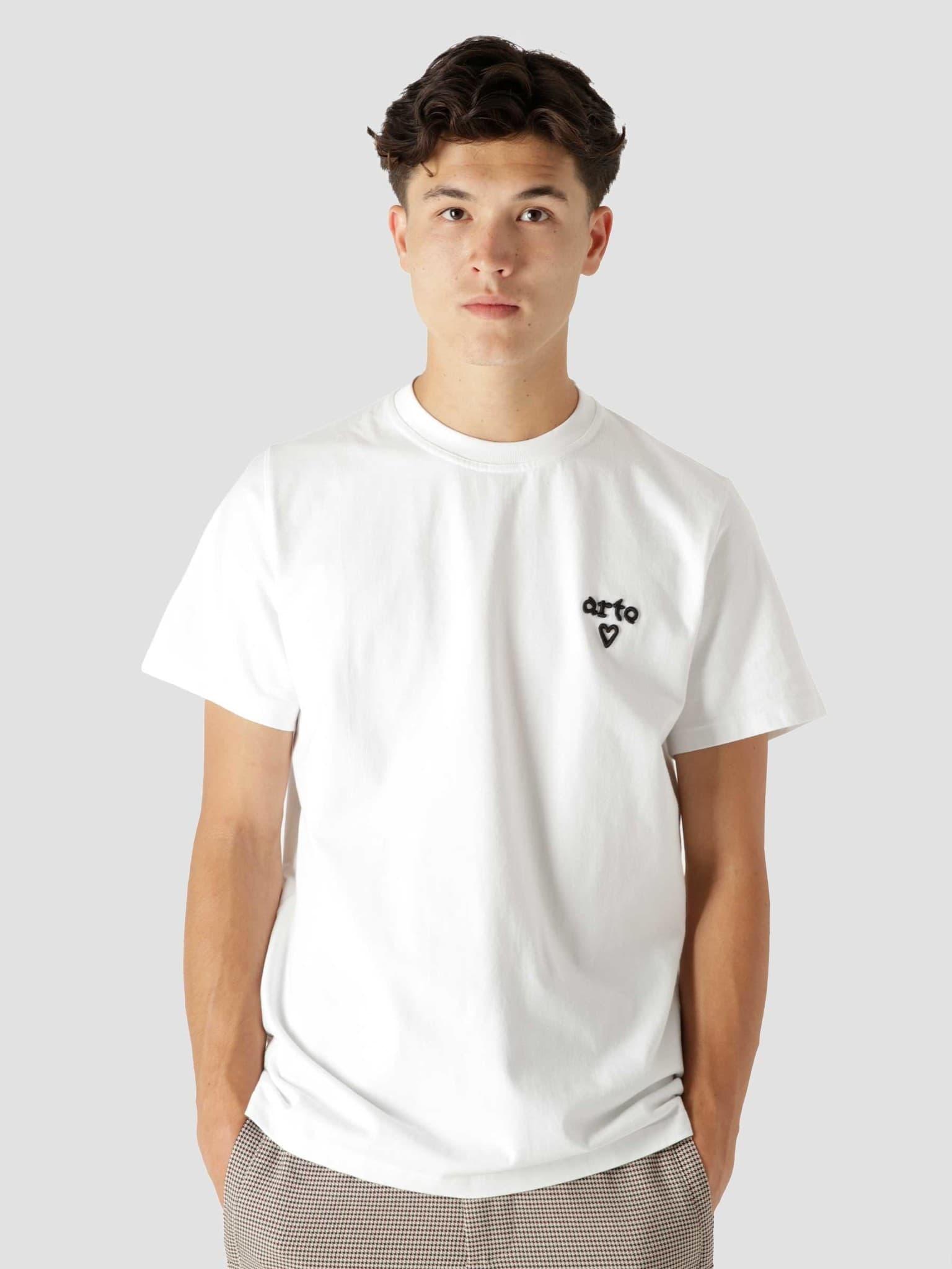 Tissot Heart T-Shirt White AW21-067T