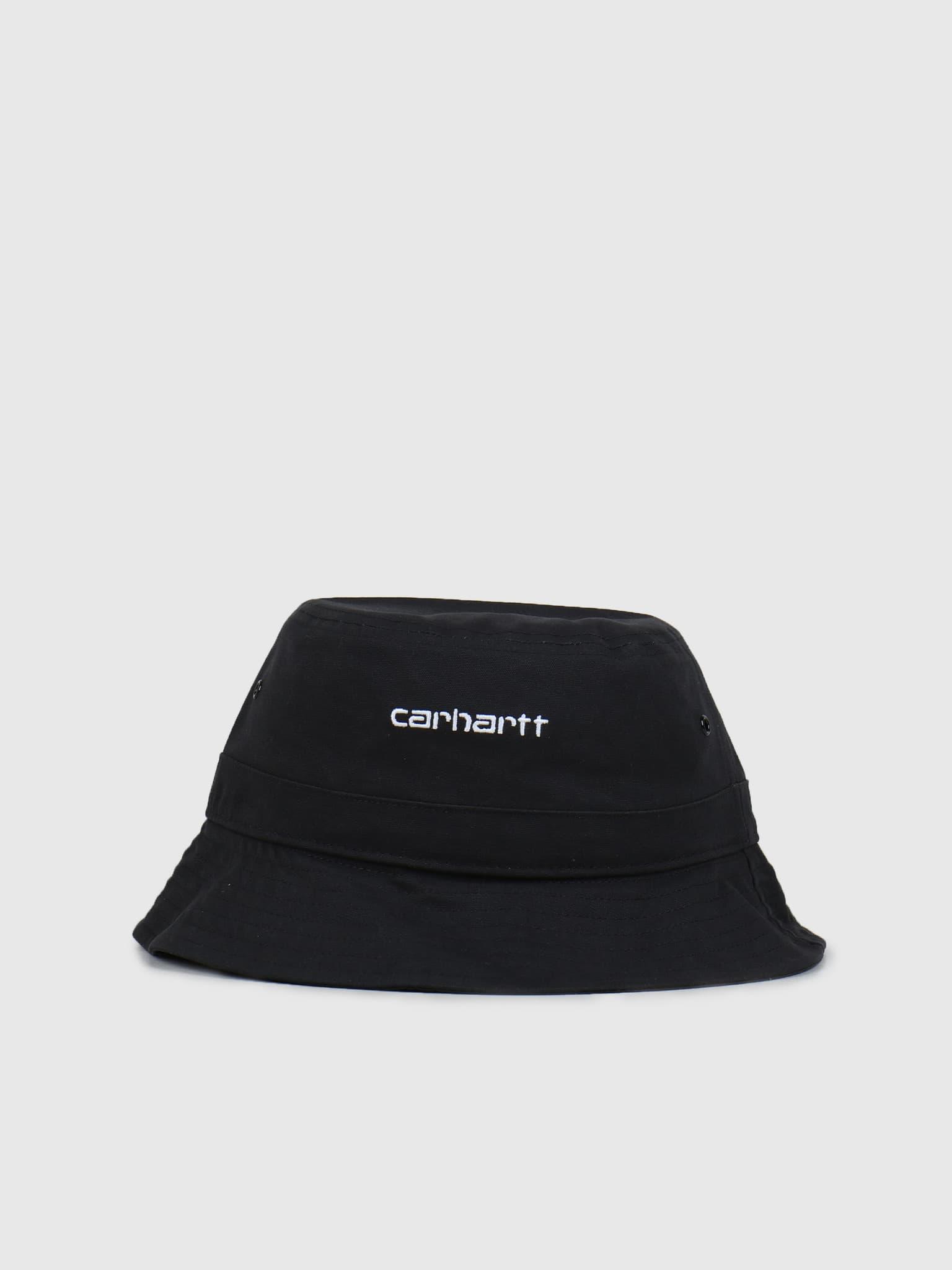 Script Bucket Hat Black White I026217-8990