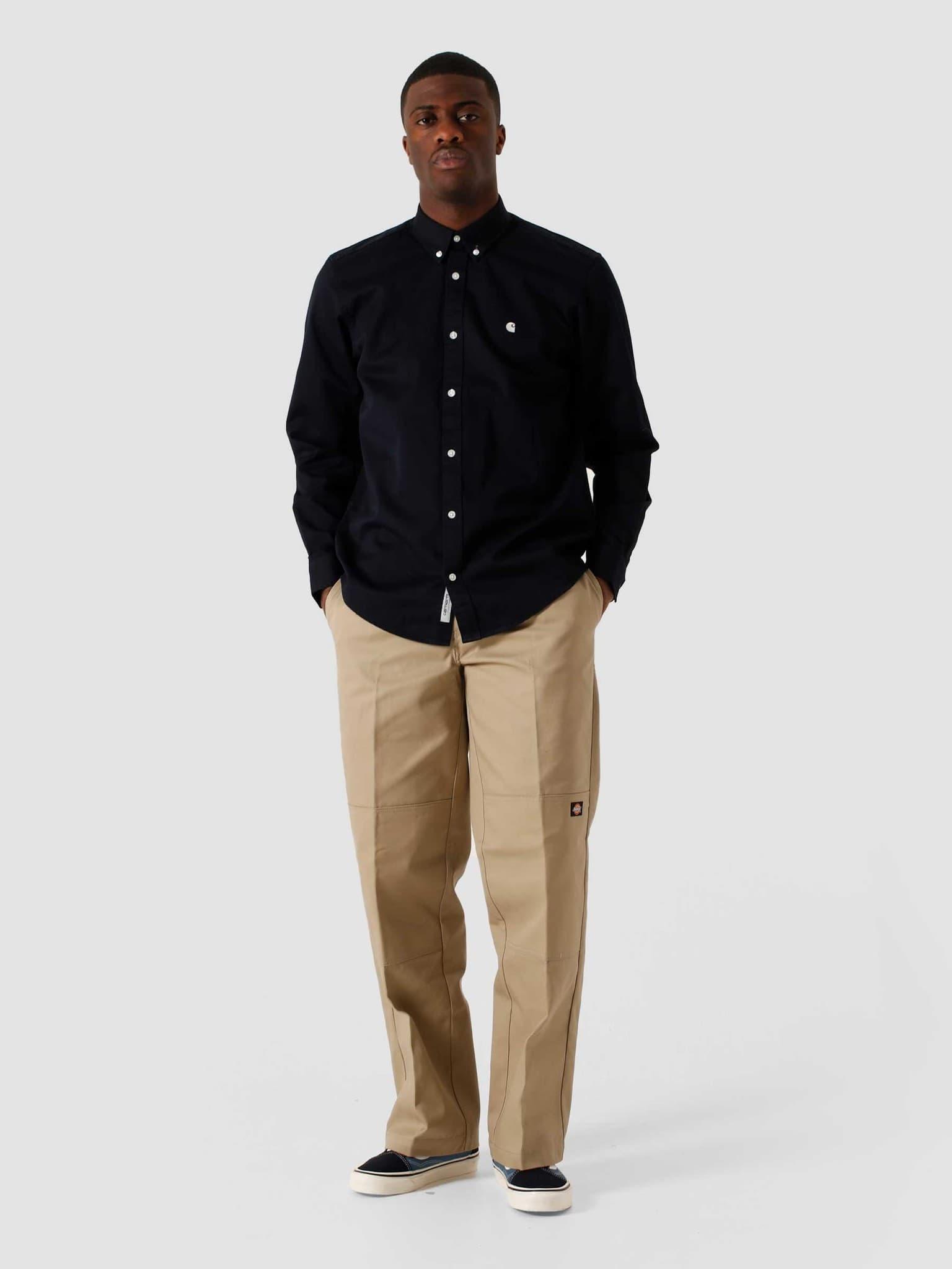 Madison Shirt Dark Navy Wax I023339-1C90