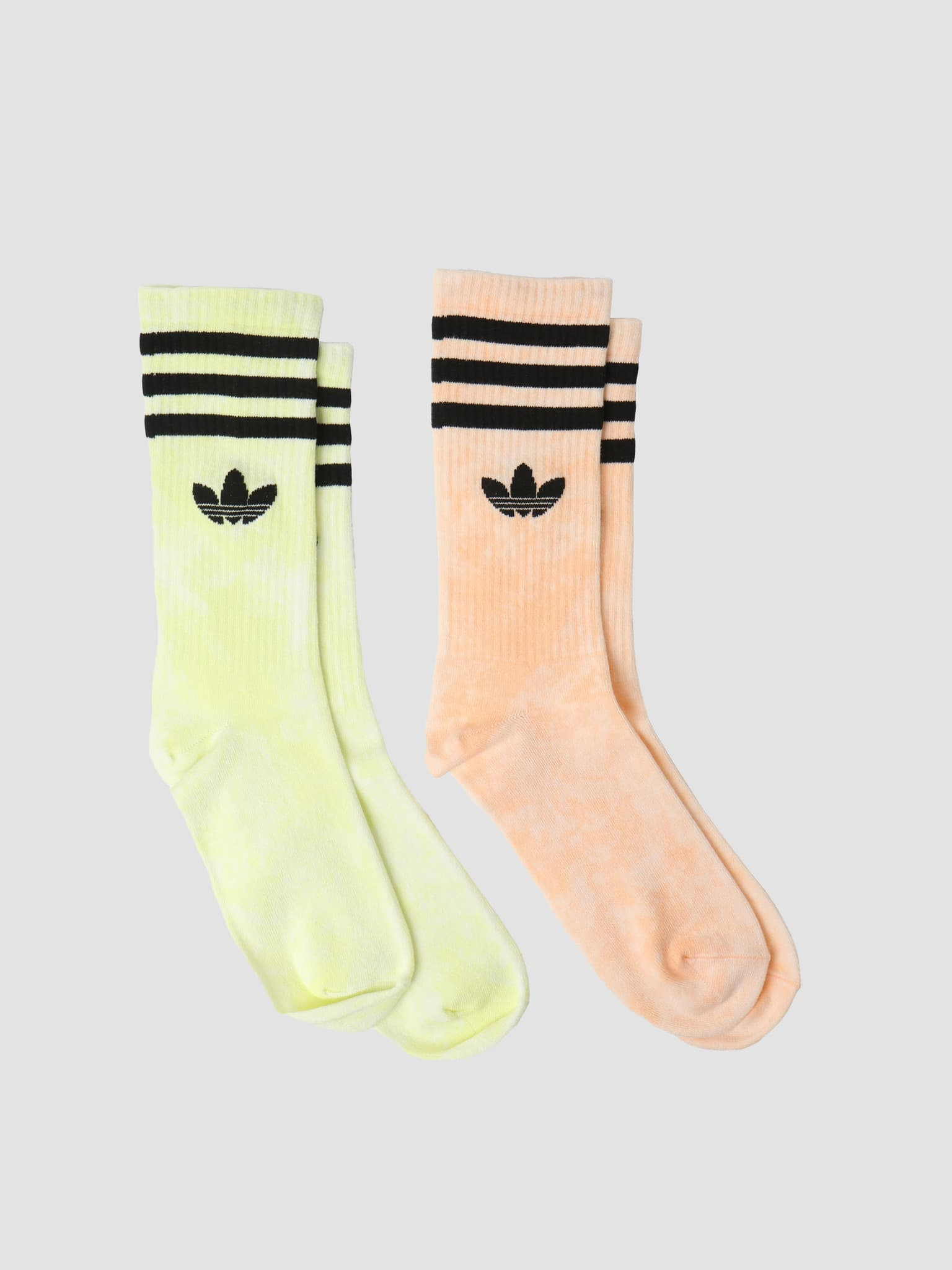 Tie Dye Sock Acid Orange Pulse Yellow HA4676