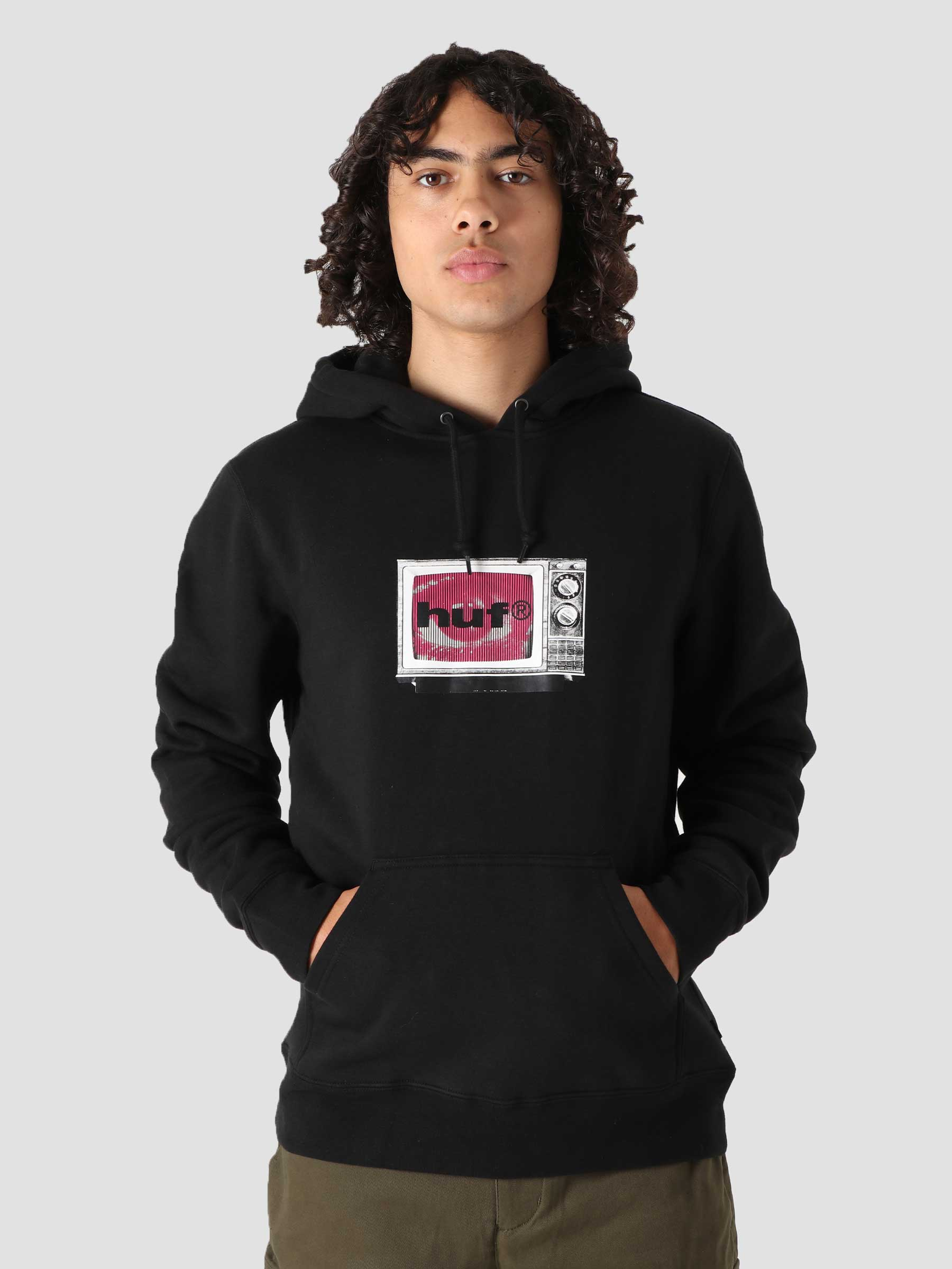 Eye Witness Hoodie Black PF00398-BLACK