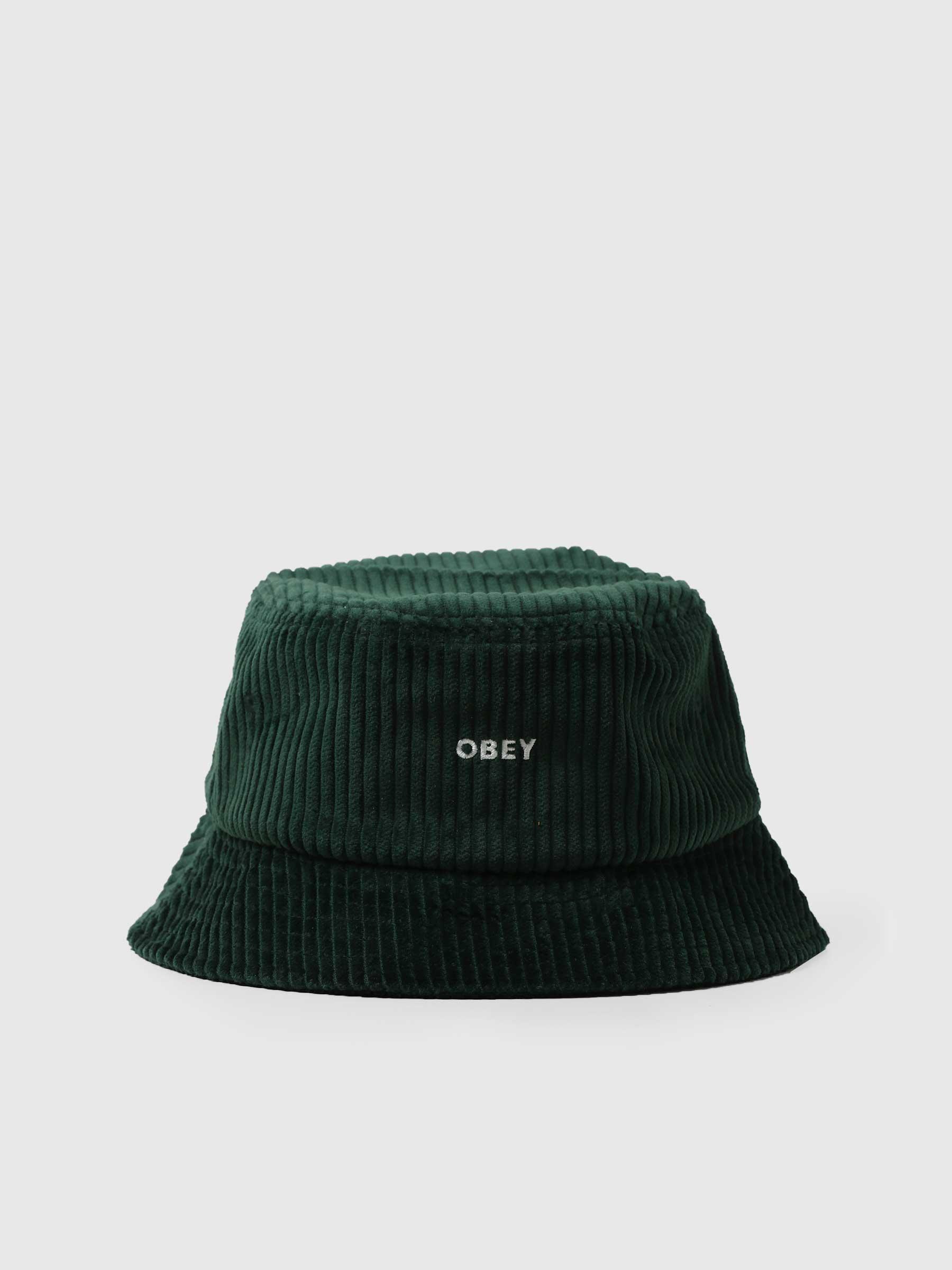 Bold Cord Bucket Hat Bucket Hat Emerald Green 100520051
