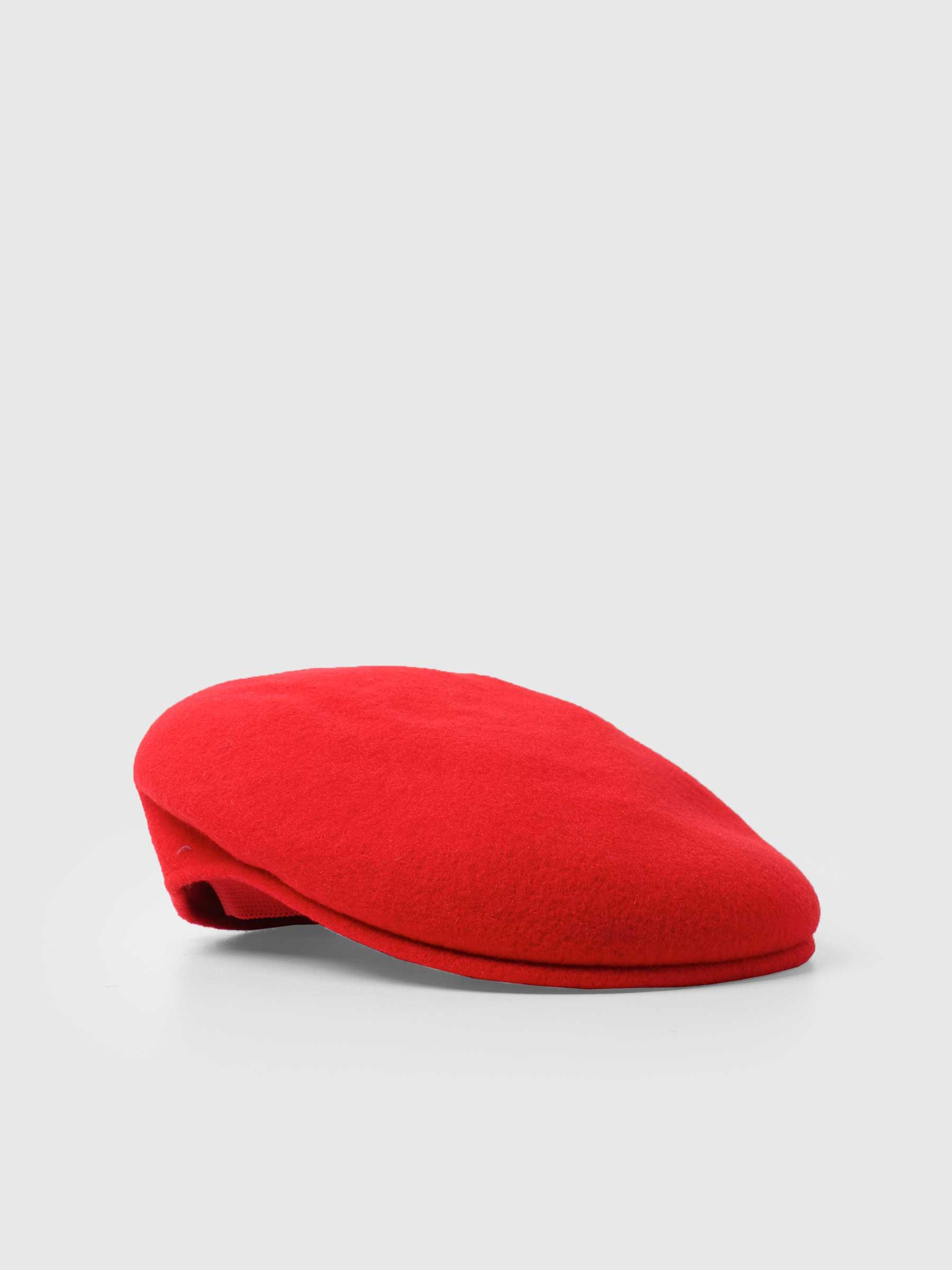 504 Kangol Cap Red 0258BC-RD608