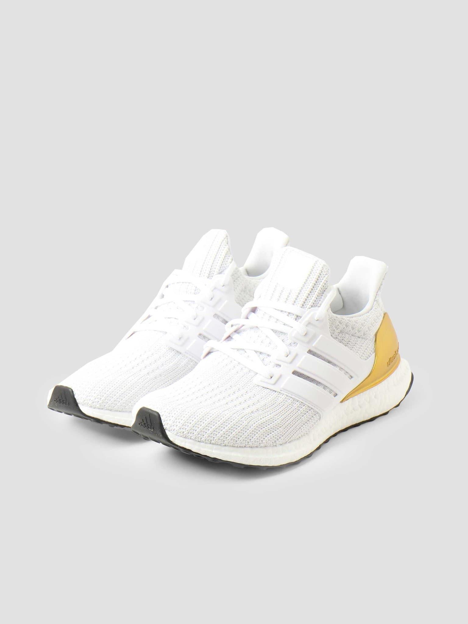 Ultraboost 4.0 Ftwr White Ftwr White Gold Met. FZ4007