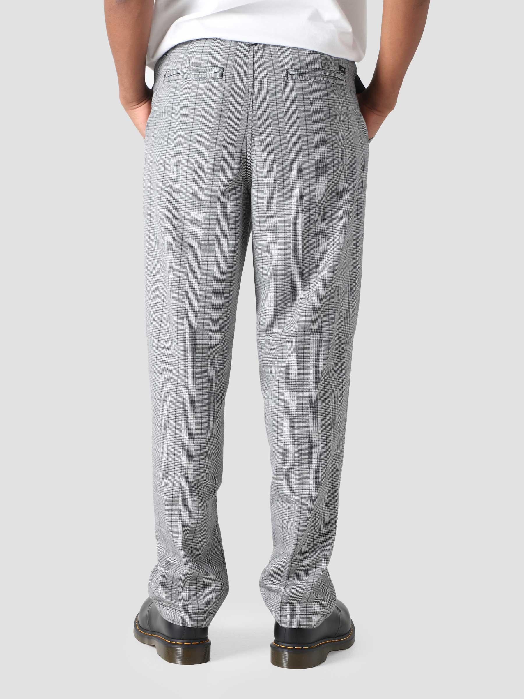 Newton Pant Pants Black Plaid 142020190