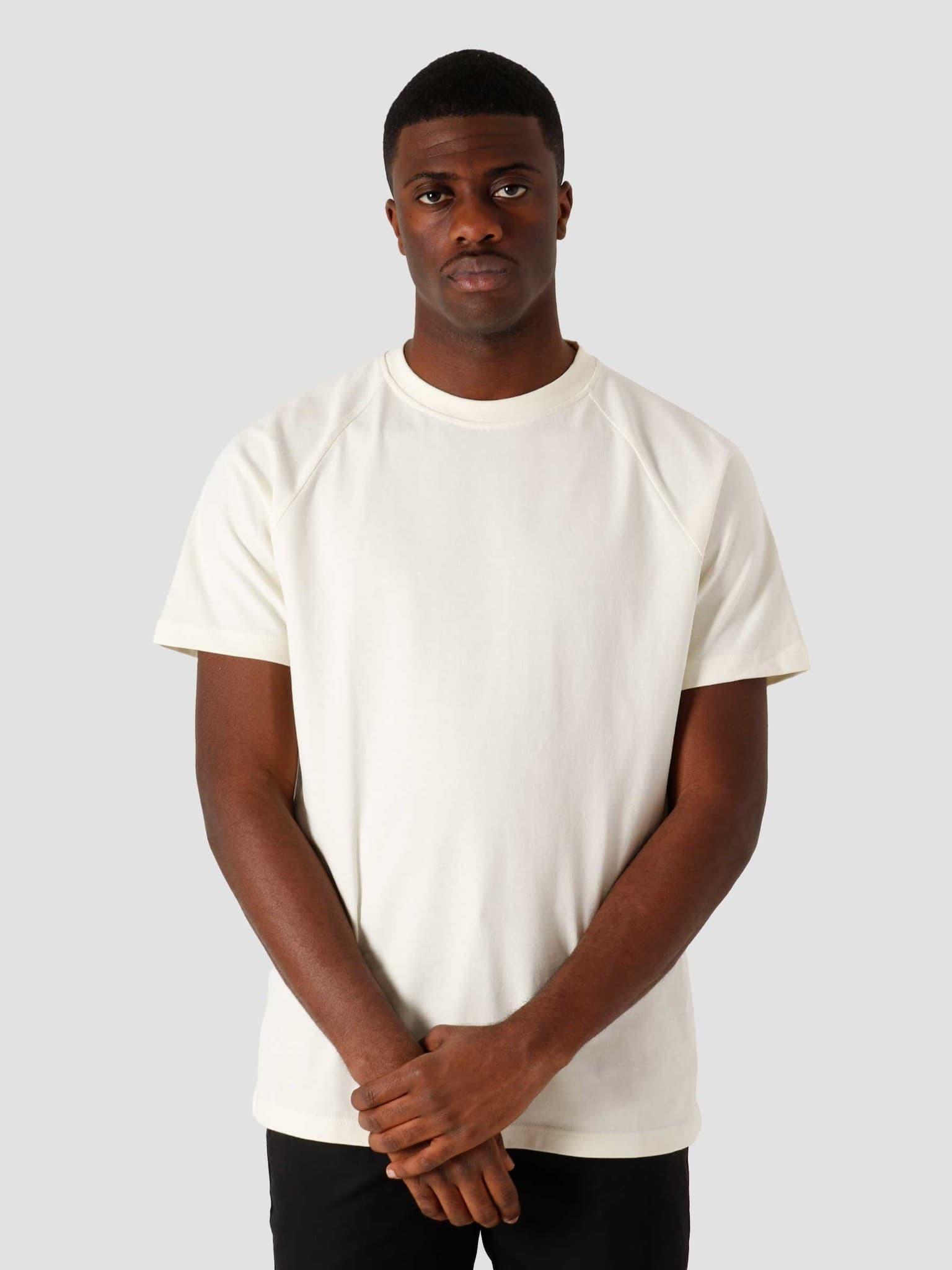 QB302 Heavy Raglan T-shirt Off White