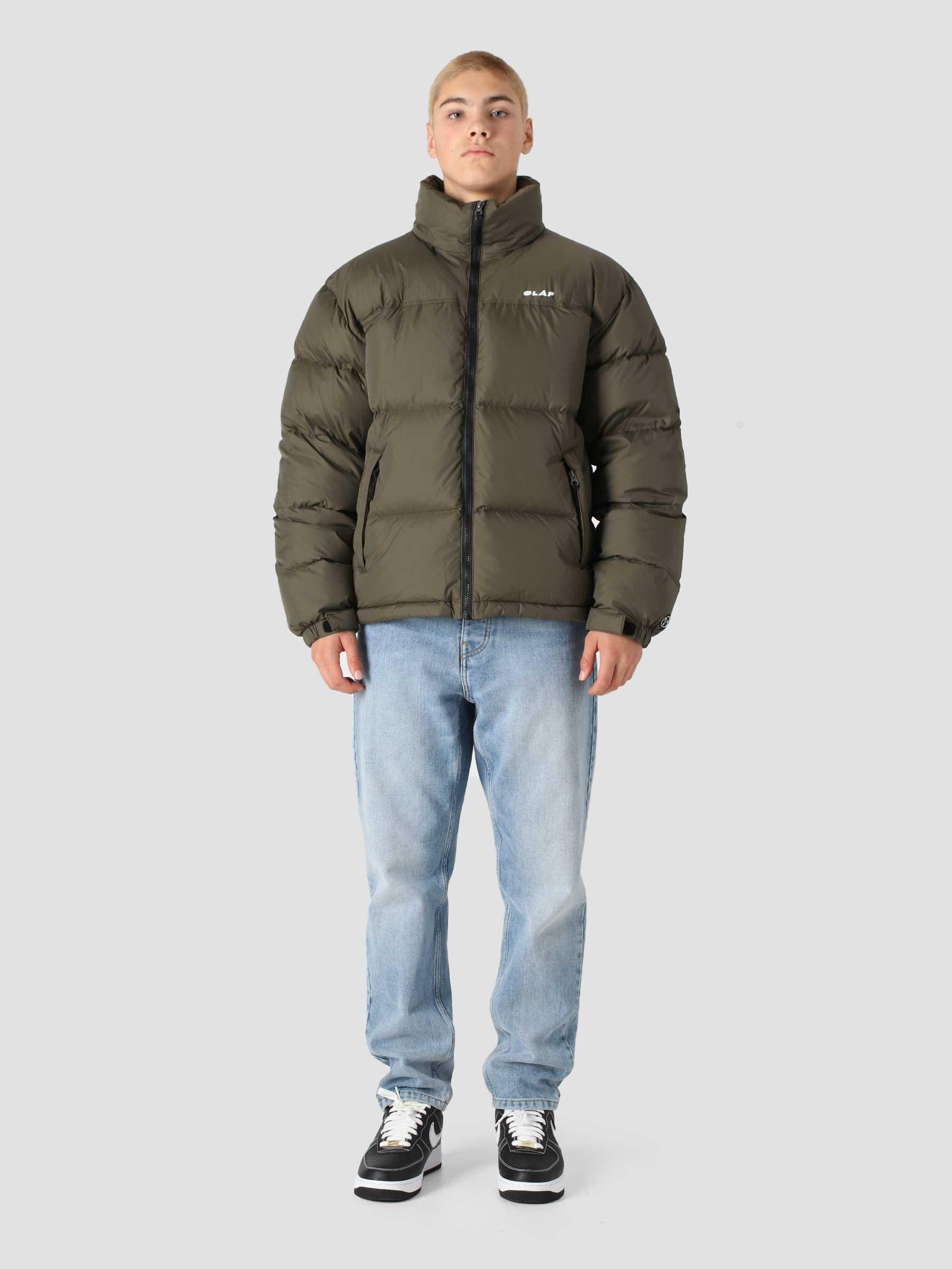 OLAF Puffer Jacket Army Green