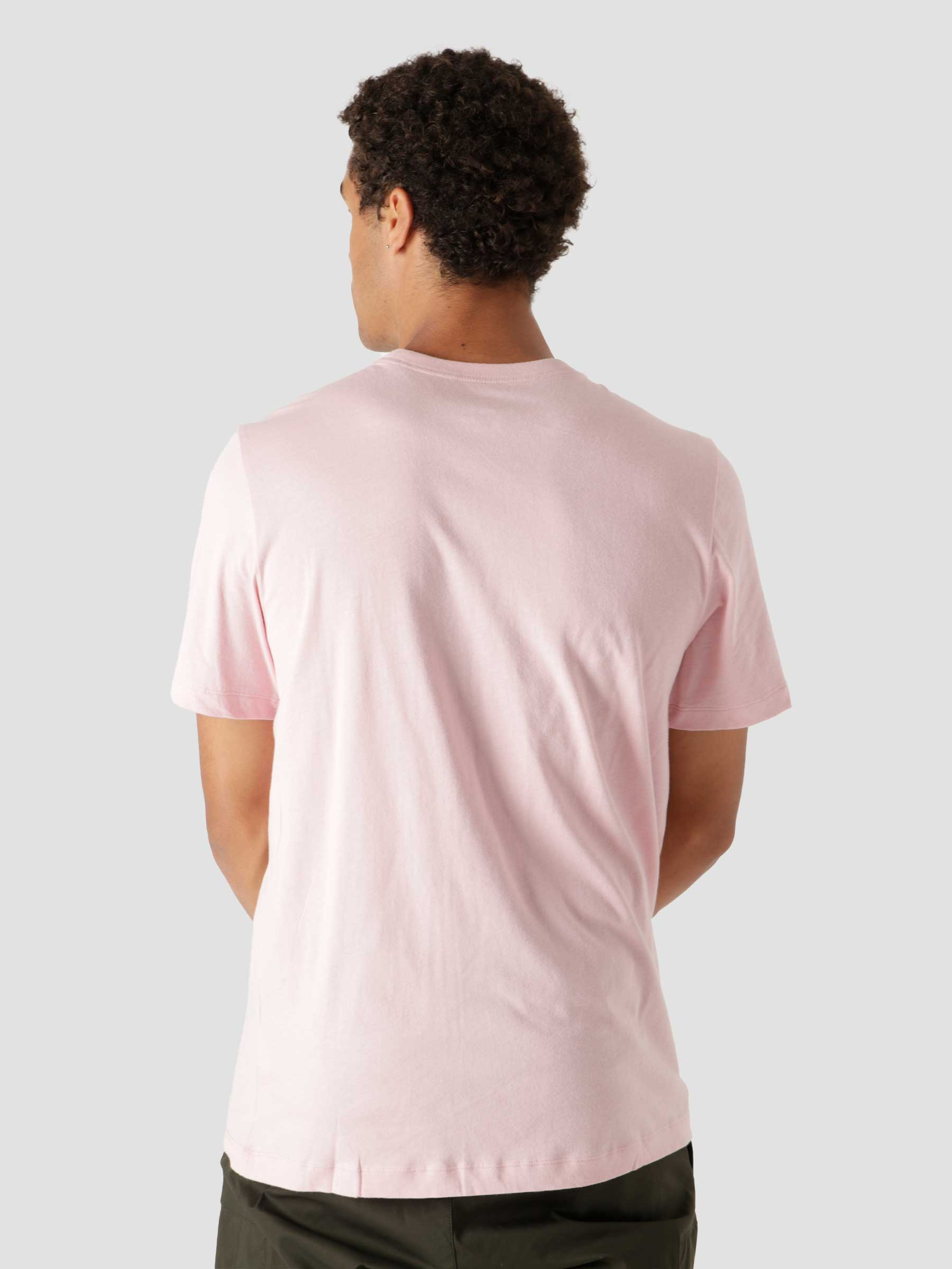 M Nsw Club T Shirt Pink Glaze Black AR4997-630