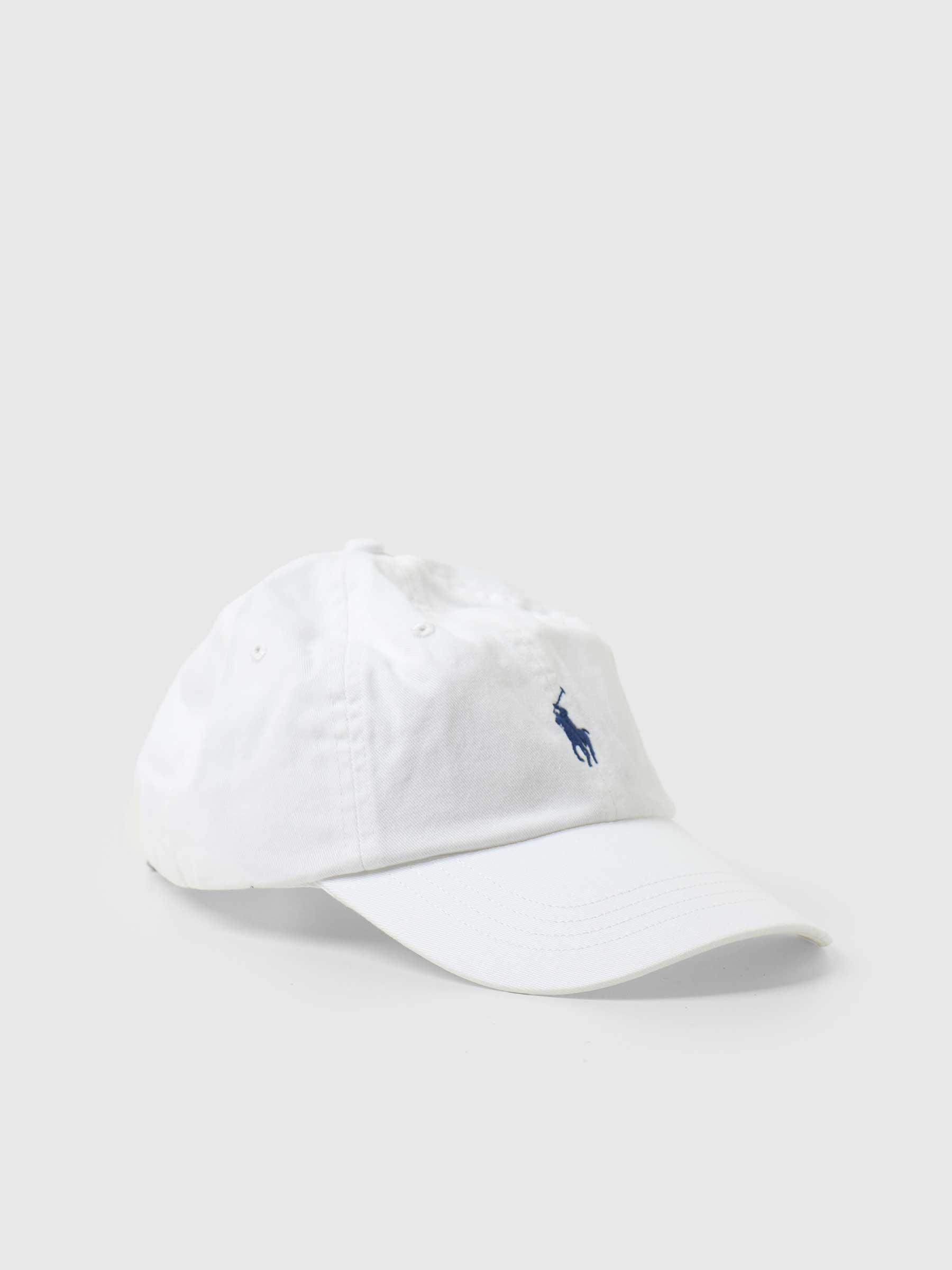 Sport Cap Hat White Marlin Blue 710548524001