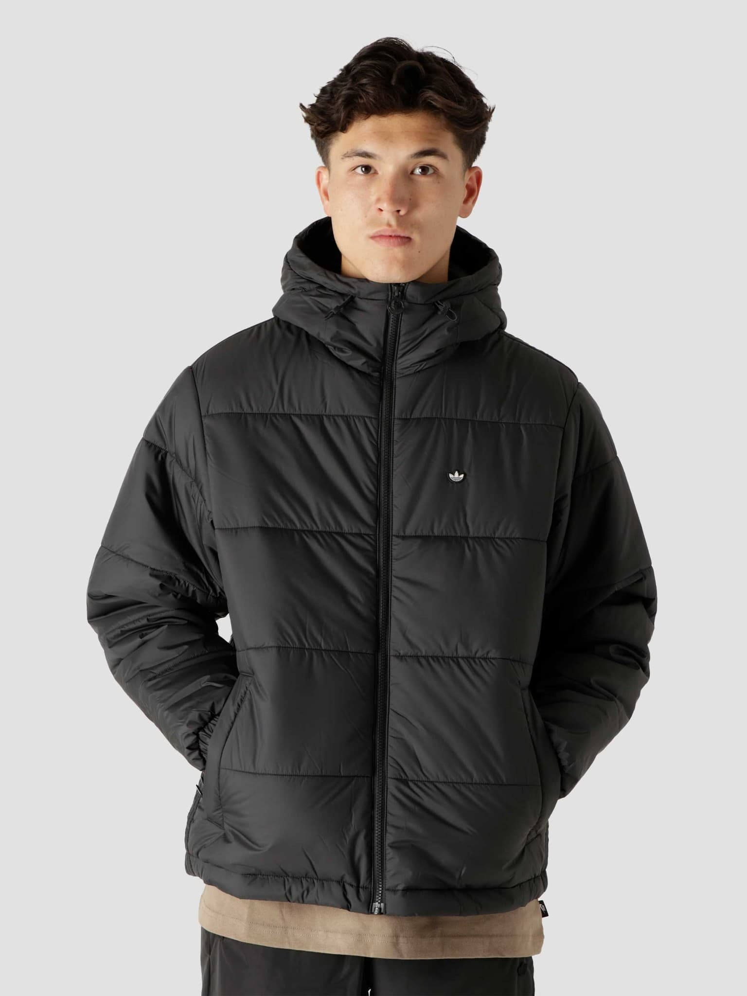 Pad Hooded Puf Black H13555