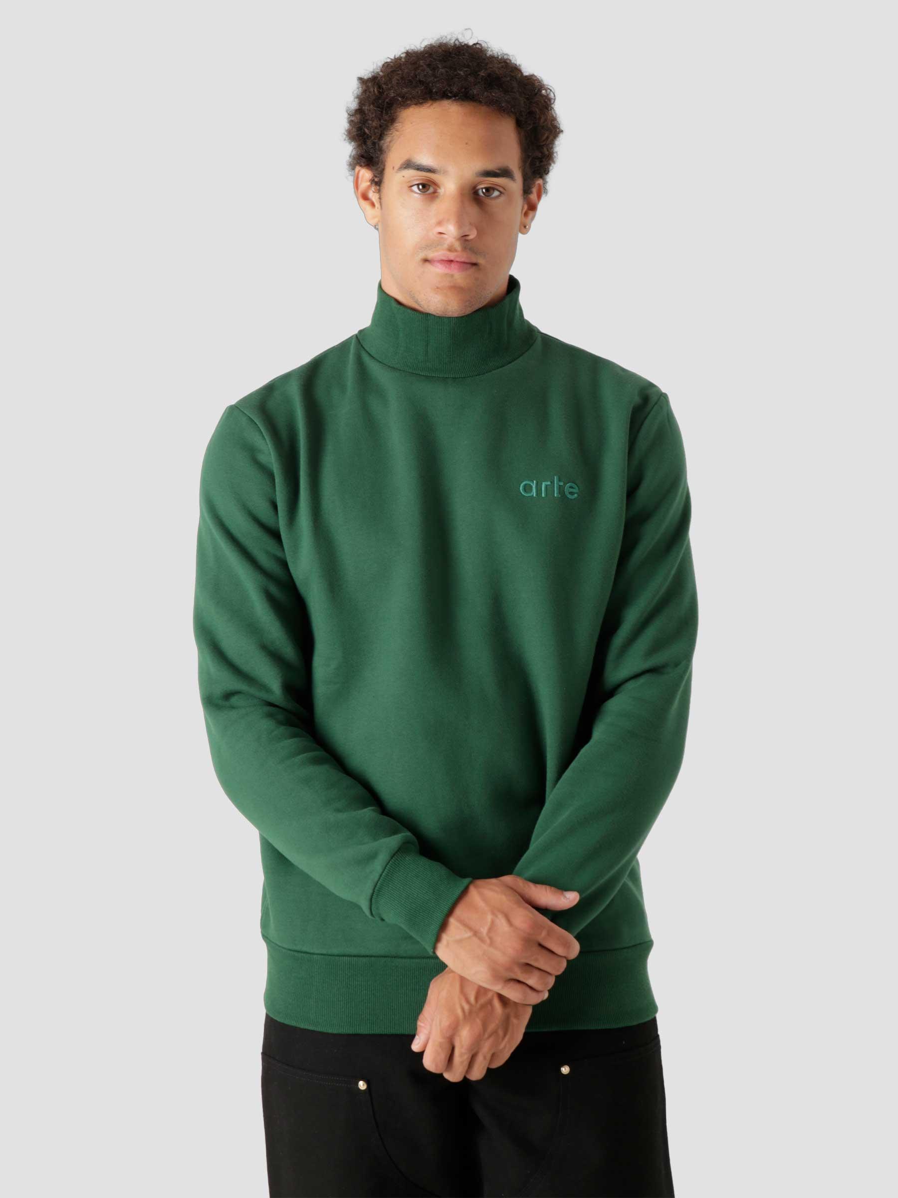 Carter Sweater Green AW21-127C