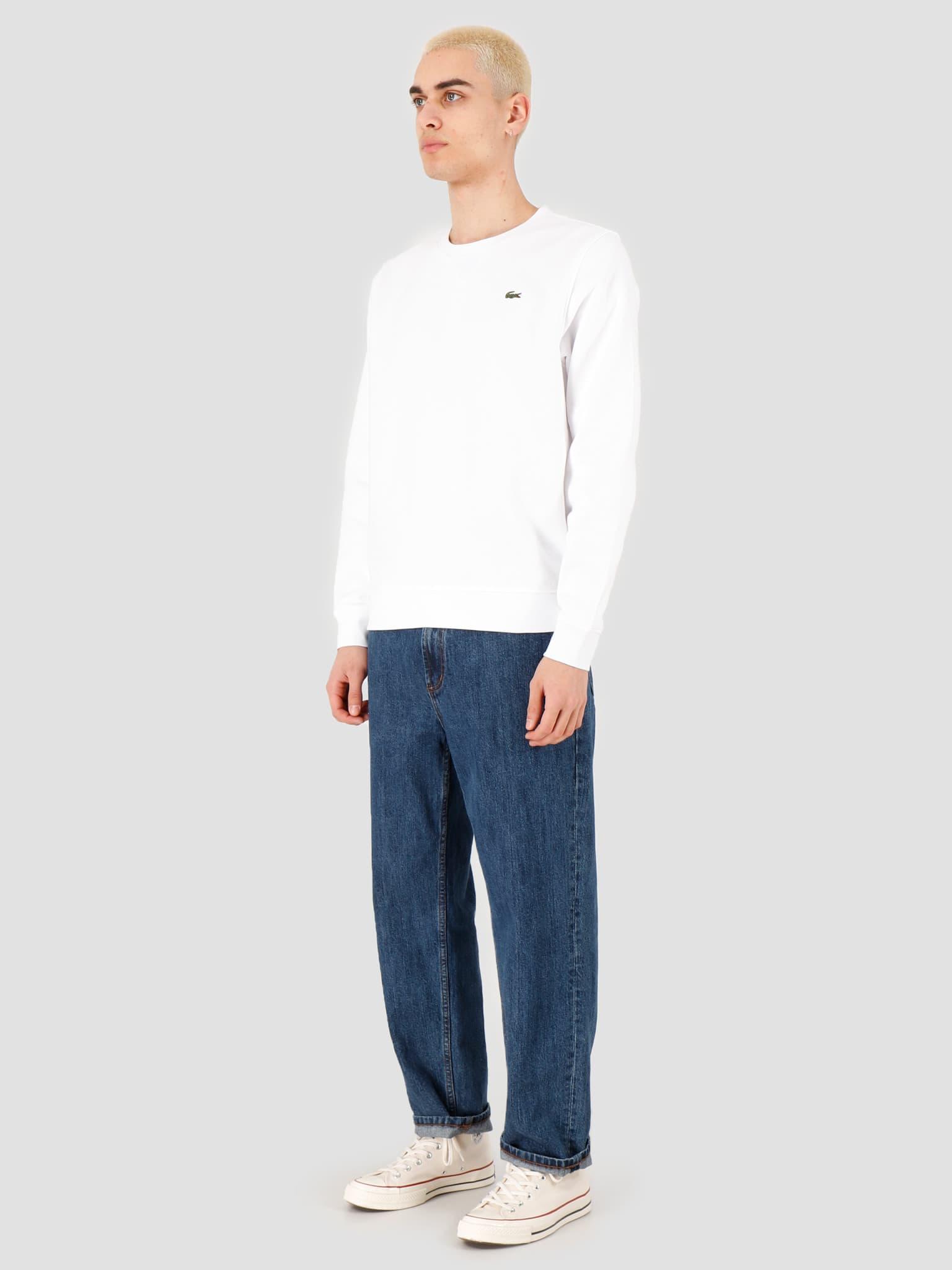 1HS1 Men's sweatshirt 01 White SH7613-01