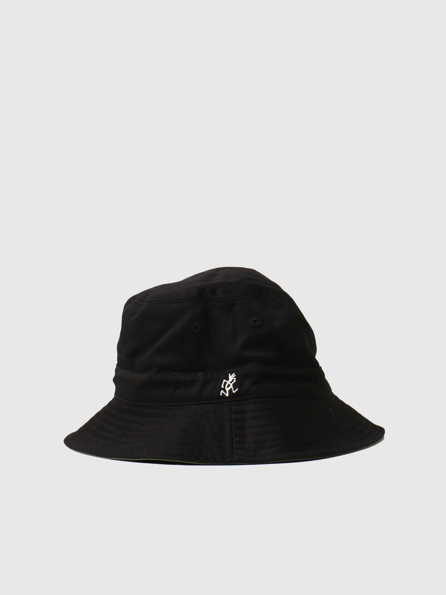 Reversible Hat Olive X Black GAC-21S073