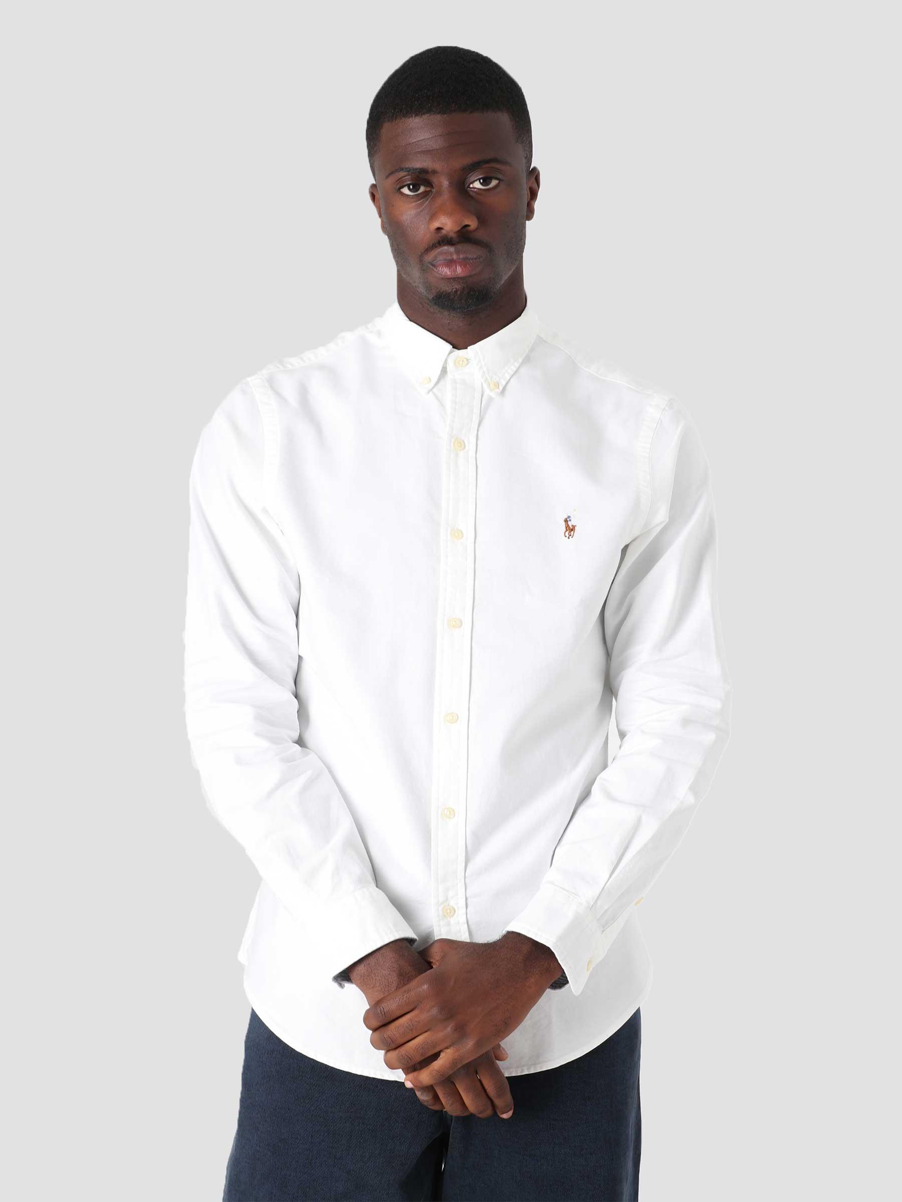 Oxford Shirt Bsr White 710796555002