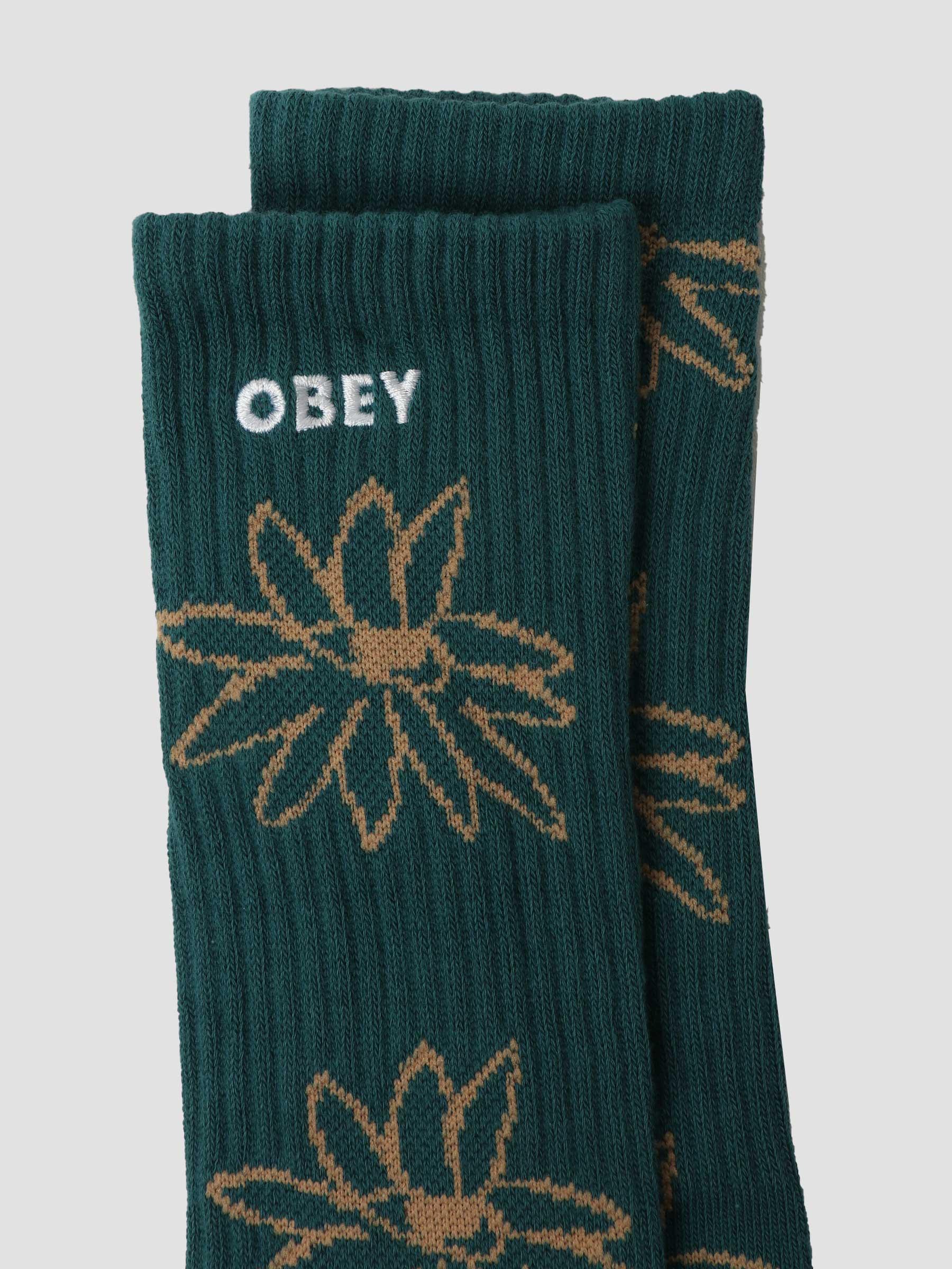 Obey Natty Socks Socks Deep Ocean Multi 100260157