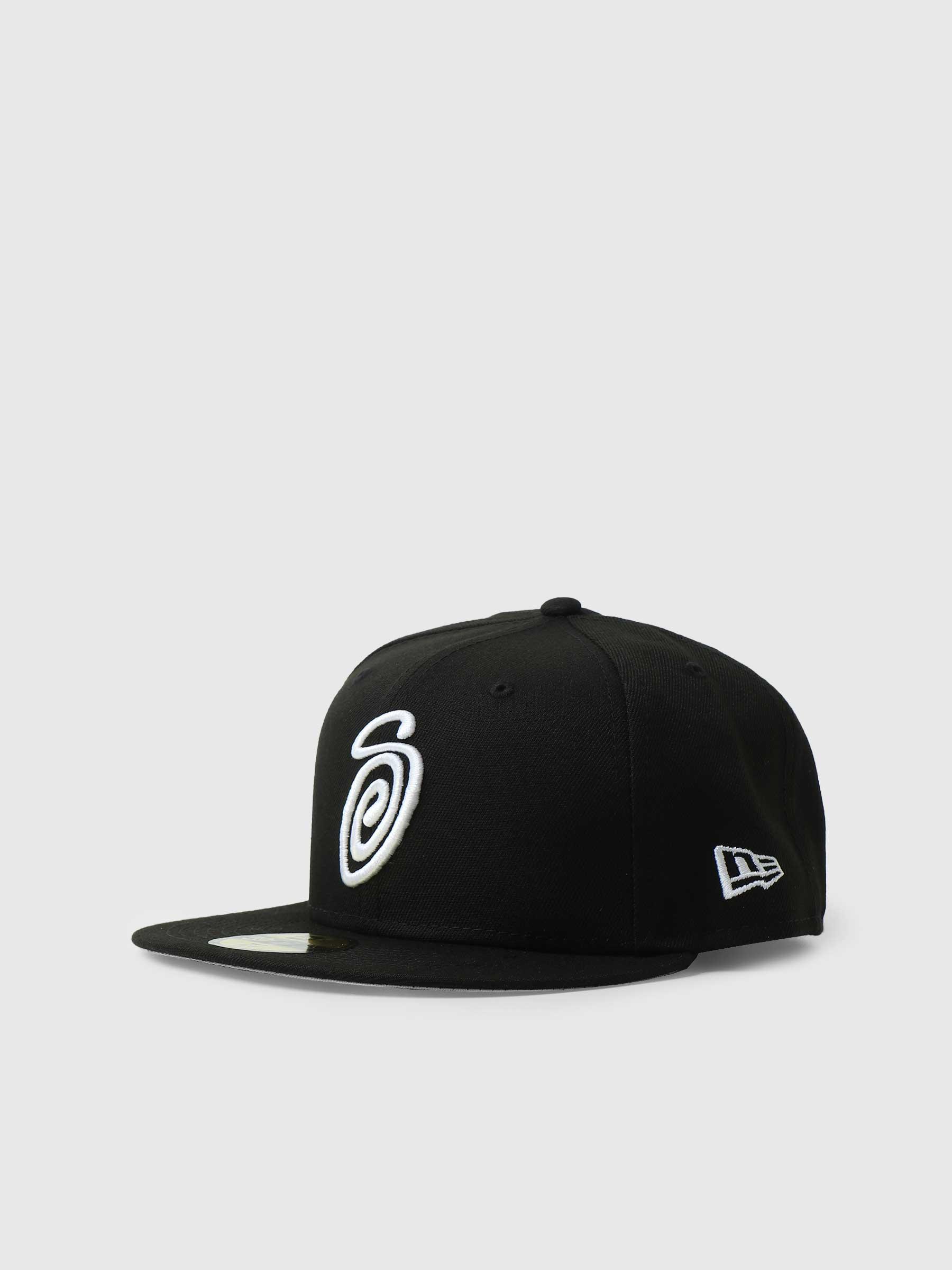 Curly S 59Fifty New Era Cap Black 1311008