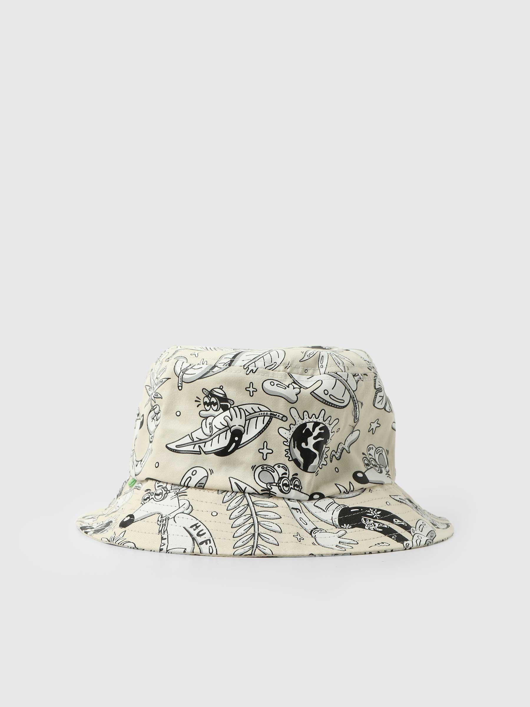 Steven Harrington Bucket Hat Natural HT00623