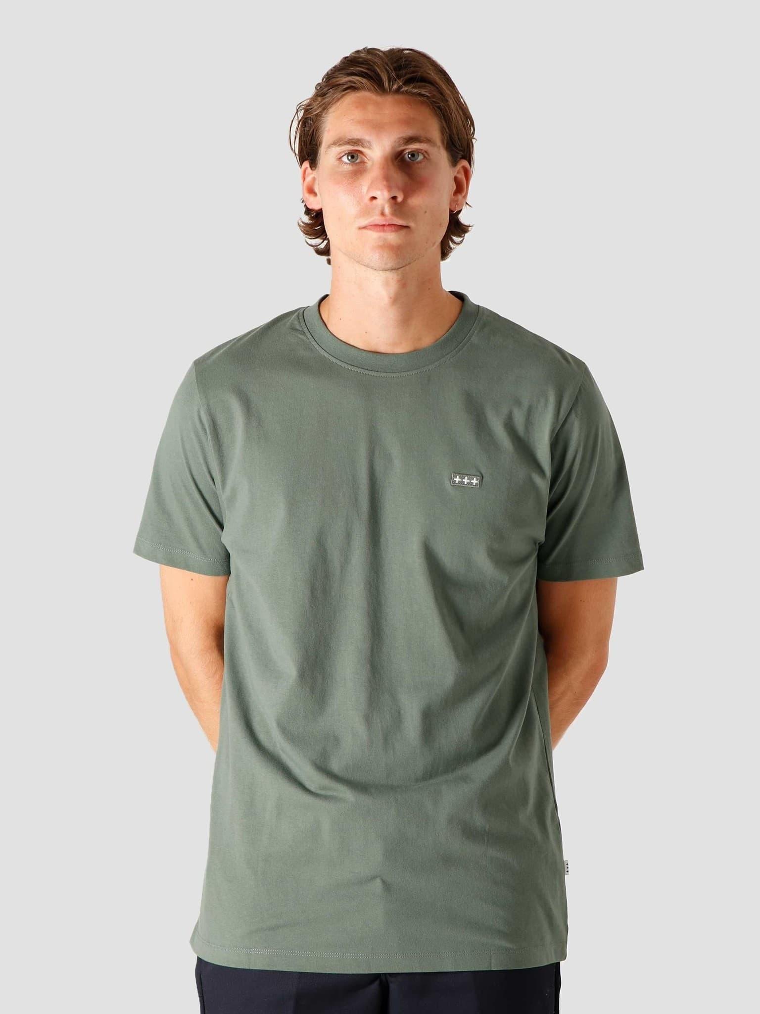 QB03 Patch Logo T-shirt Olive Green