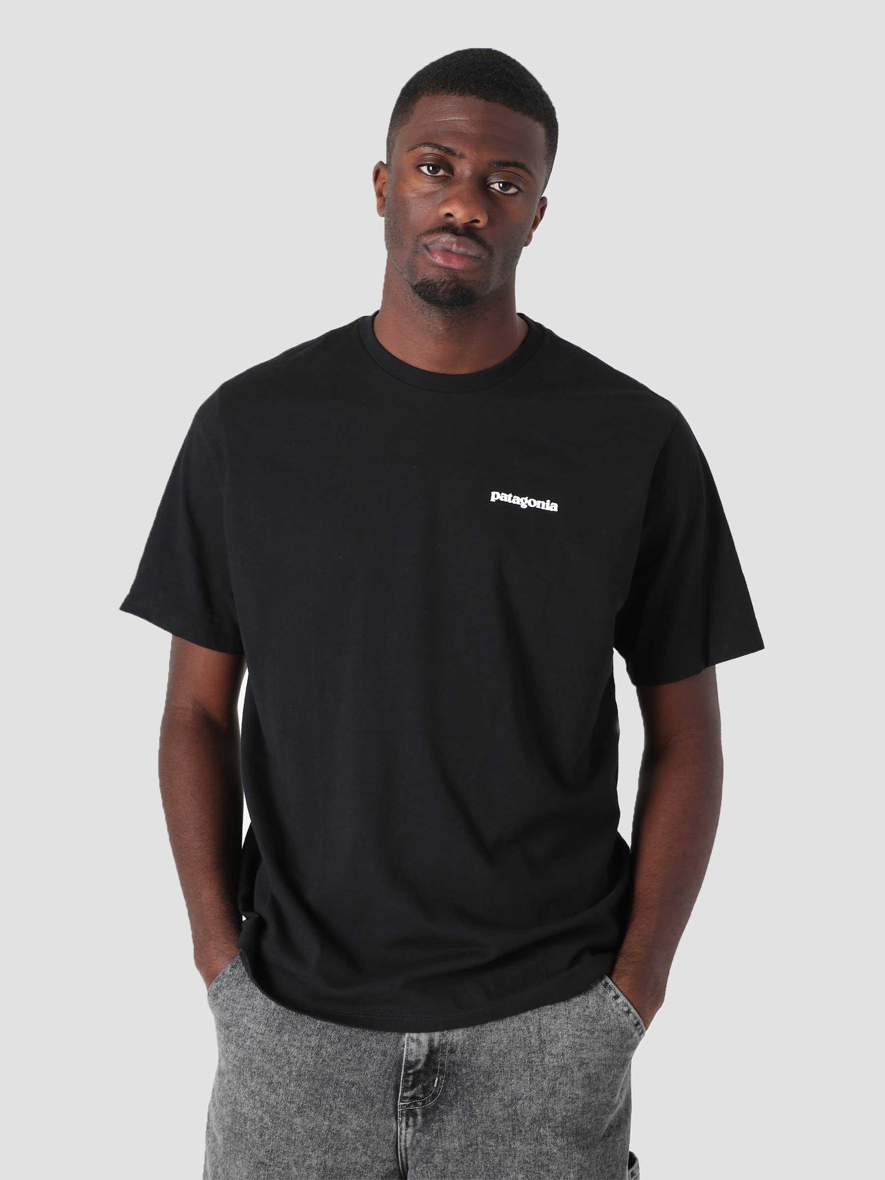 M's P-6 Logo Responsibili T-Shirt Black 38504