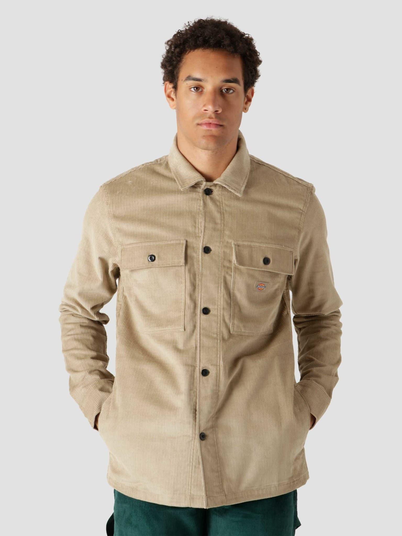 Higginson Shirt Longsleeve Khaki DK0A4XGQKHK
