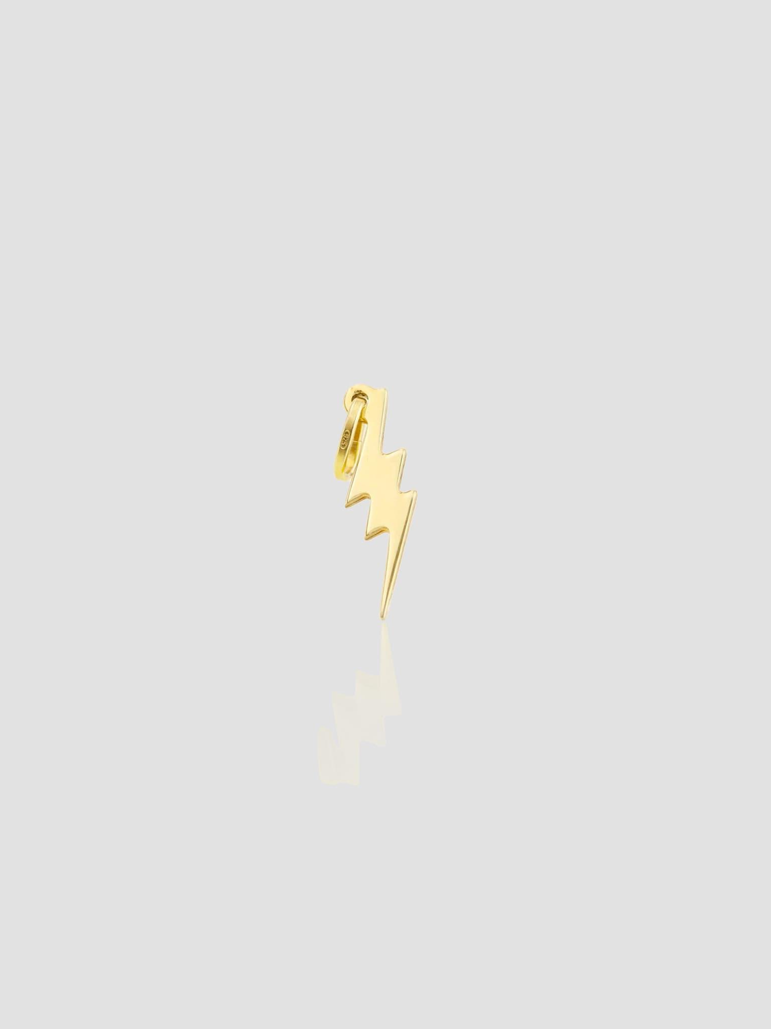 Thunderbolt Pendant One size 14k Gold