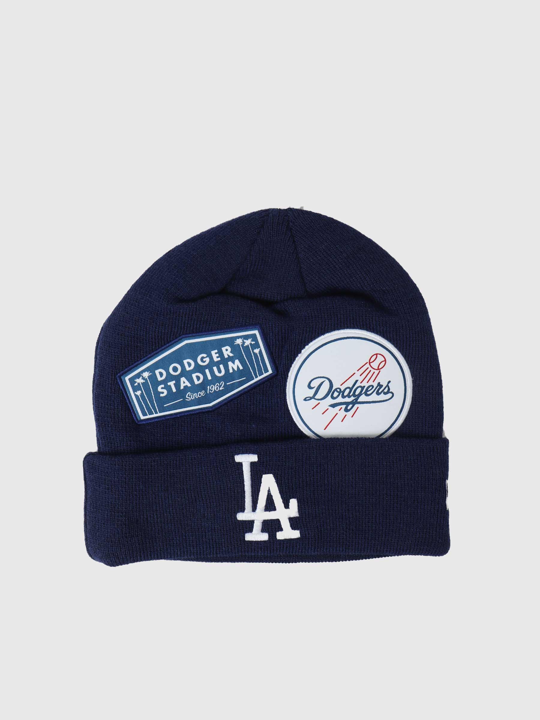 Multi Patch Beanie Los Angeles Dodgers NE60141462