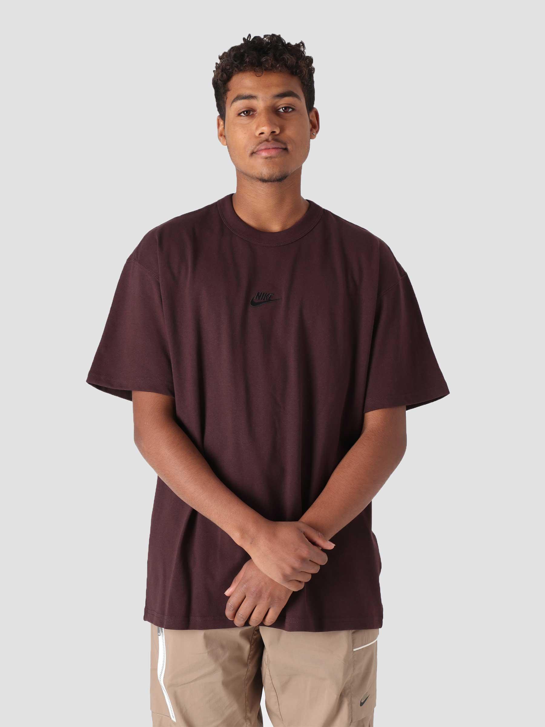 M NSW T-Shirt Premium Essential Brown Basalt Black DB3193-203