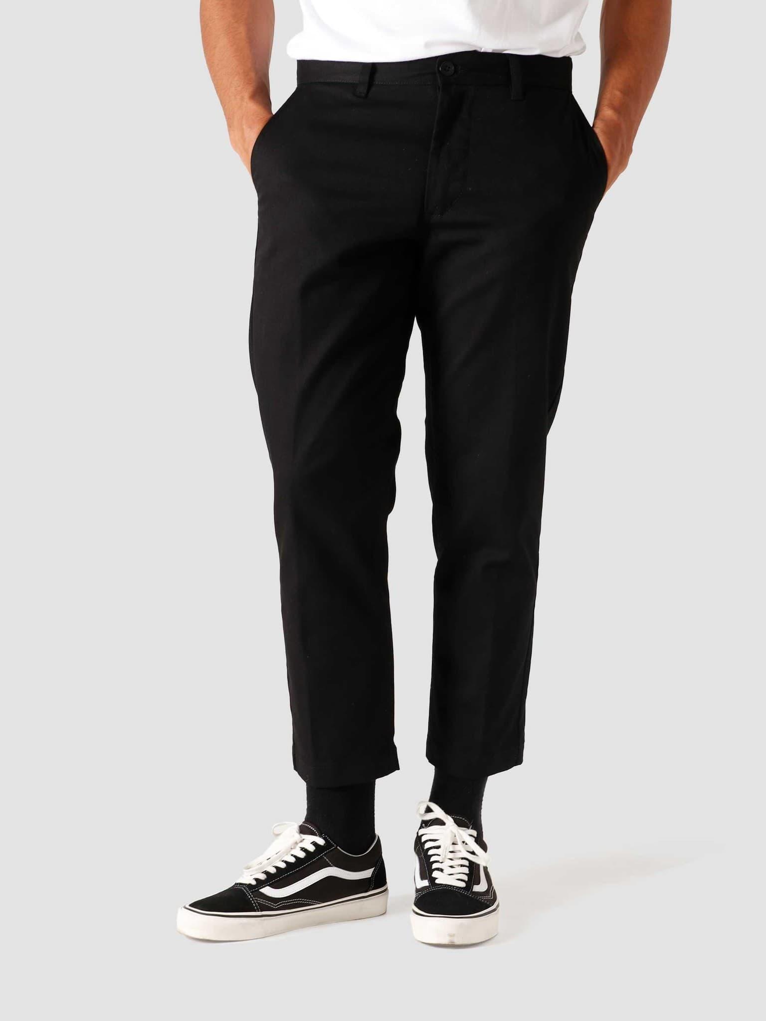 Straggler Flooded Pants Black 142020113-BLK