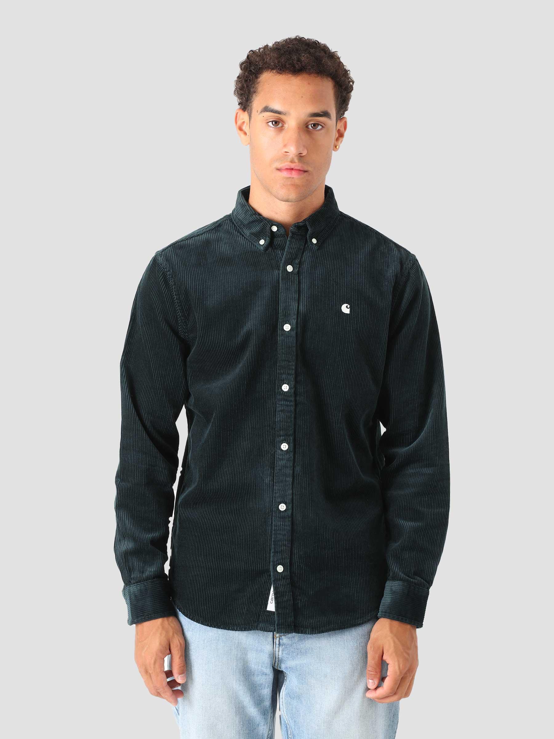 Longsleeve Madison Cord Shirt Frasier Wax I029958