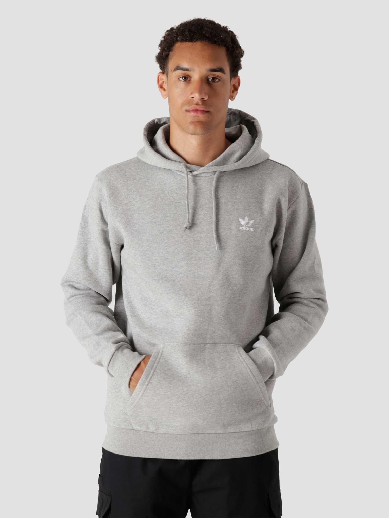 Essential Hood Medium Grey Heather H34654