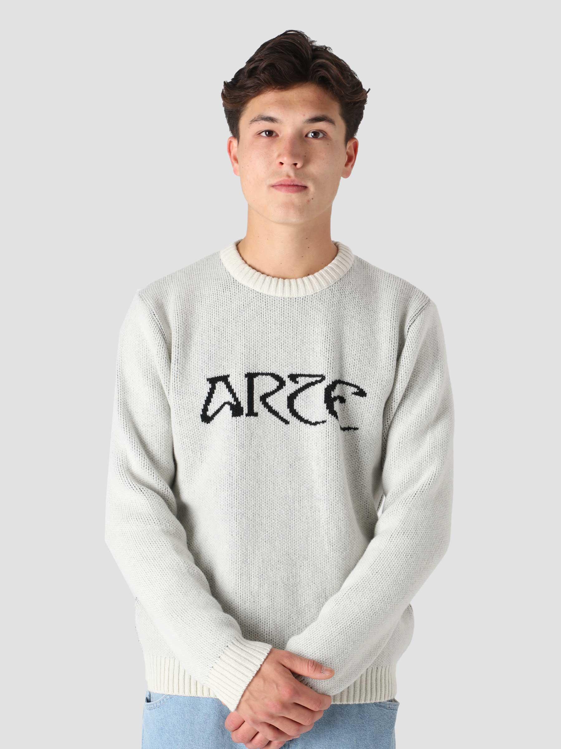 Koch Logo Sweater Creme AW21-005K