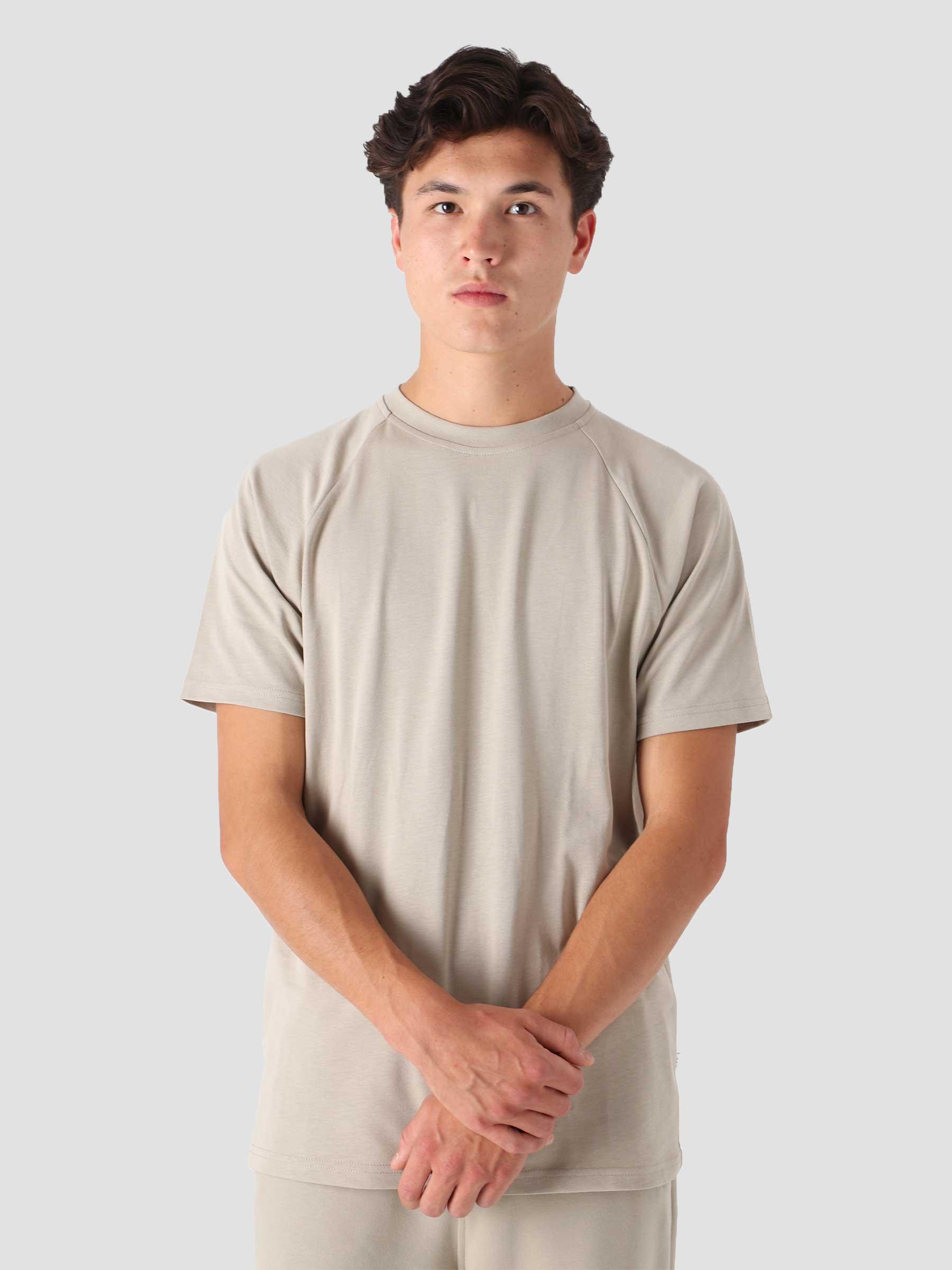 QB302 Raglan T-shirt Stone
