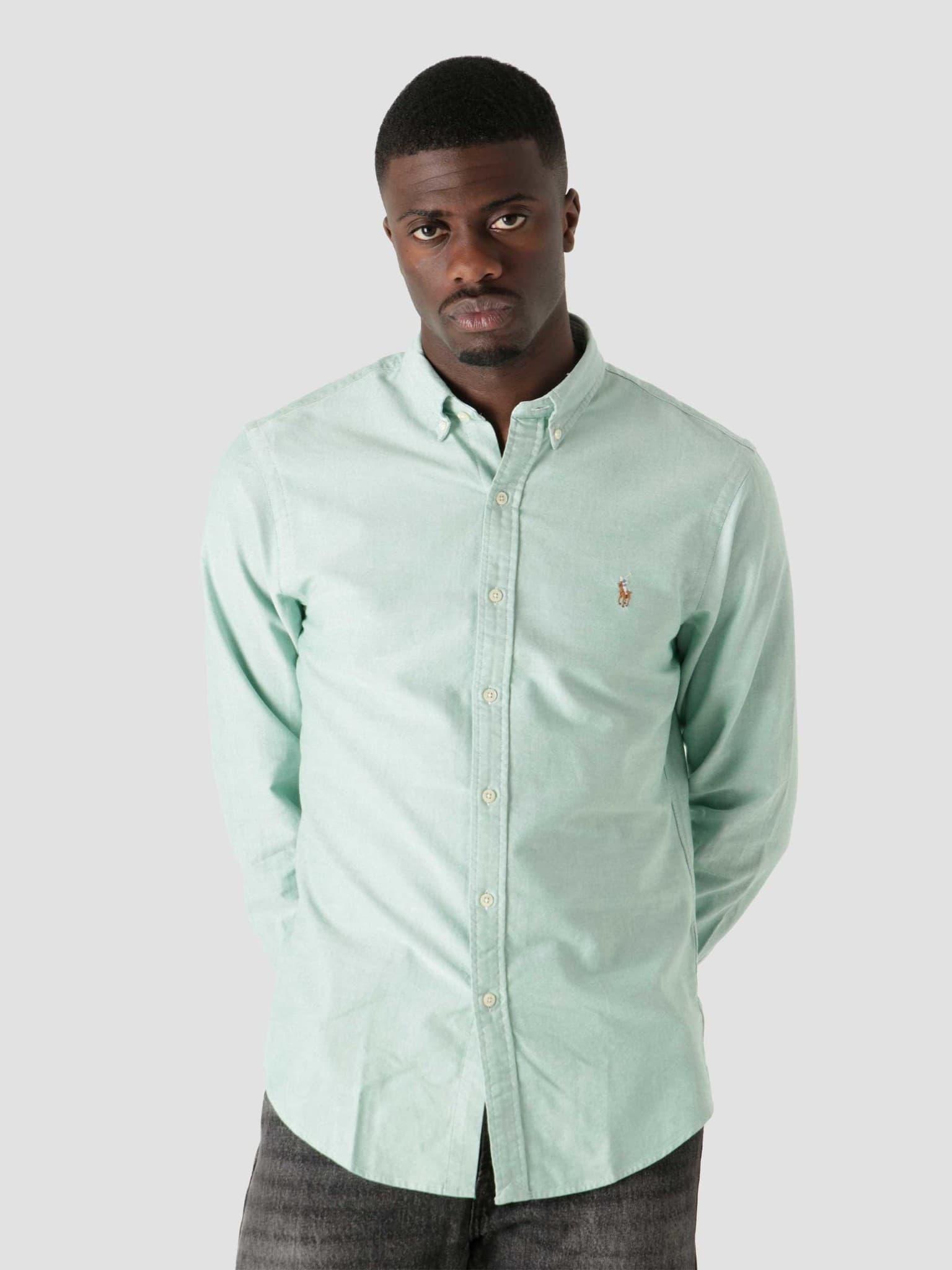 Classic Oxford Shirt 4070B College Green 710852742001