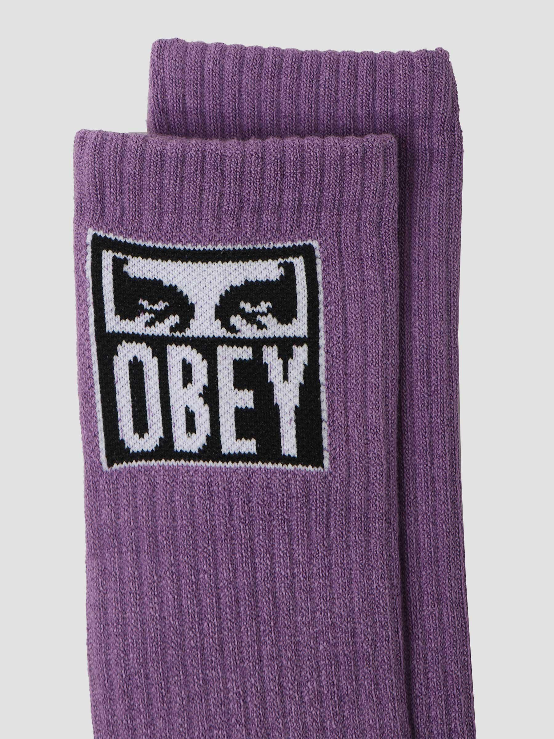 Obey Eyes Icon Socks Socks Orchid 100260141