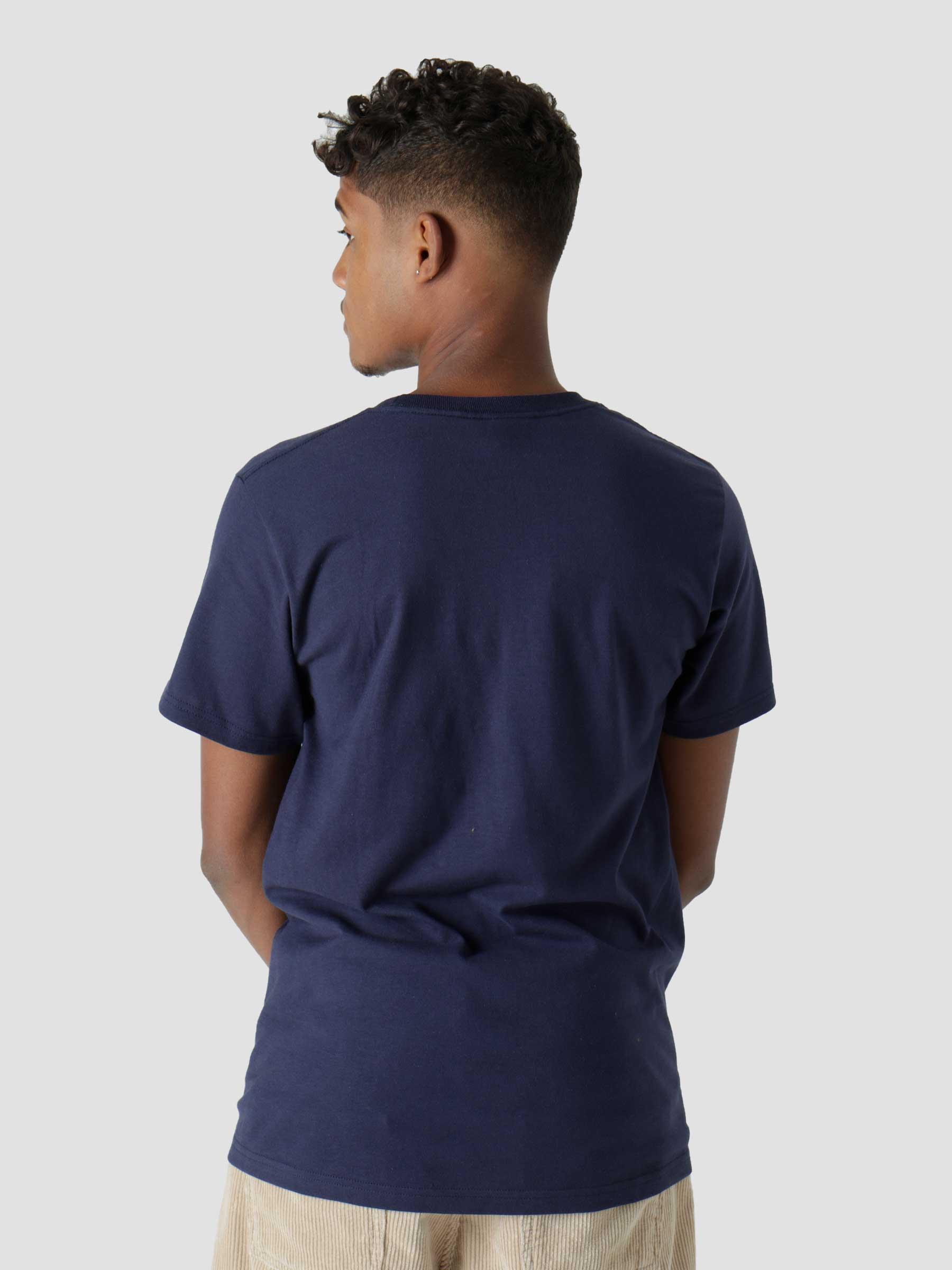 Happy Flower T-Shirt Navy 1904708