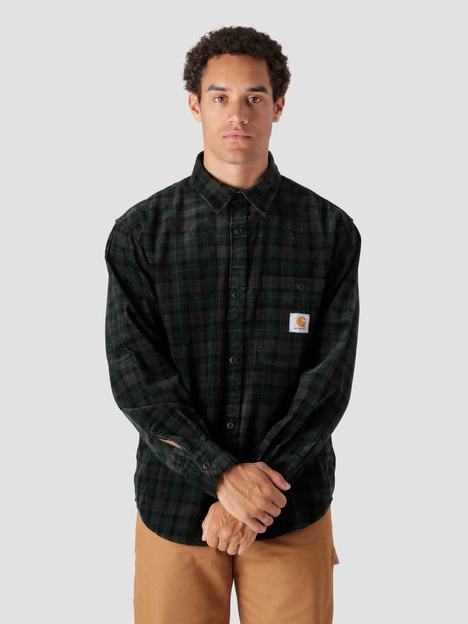 Longsleeve Flint Shirt Breck Check Print Grove I029442