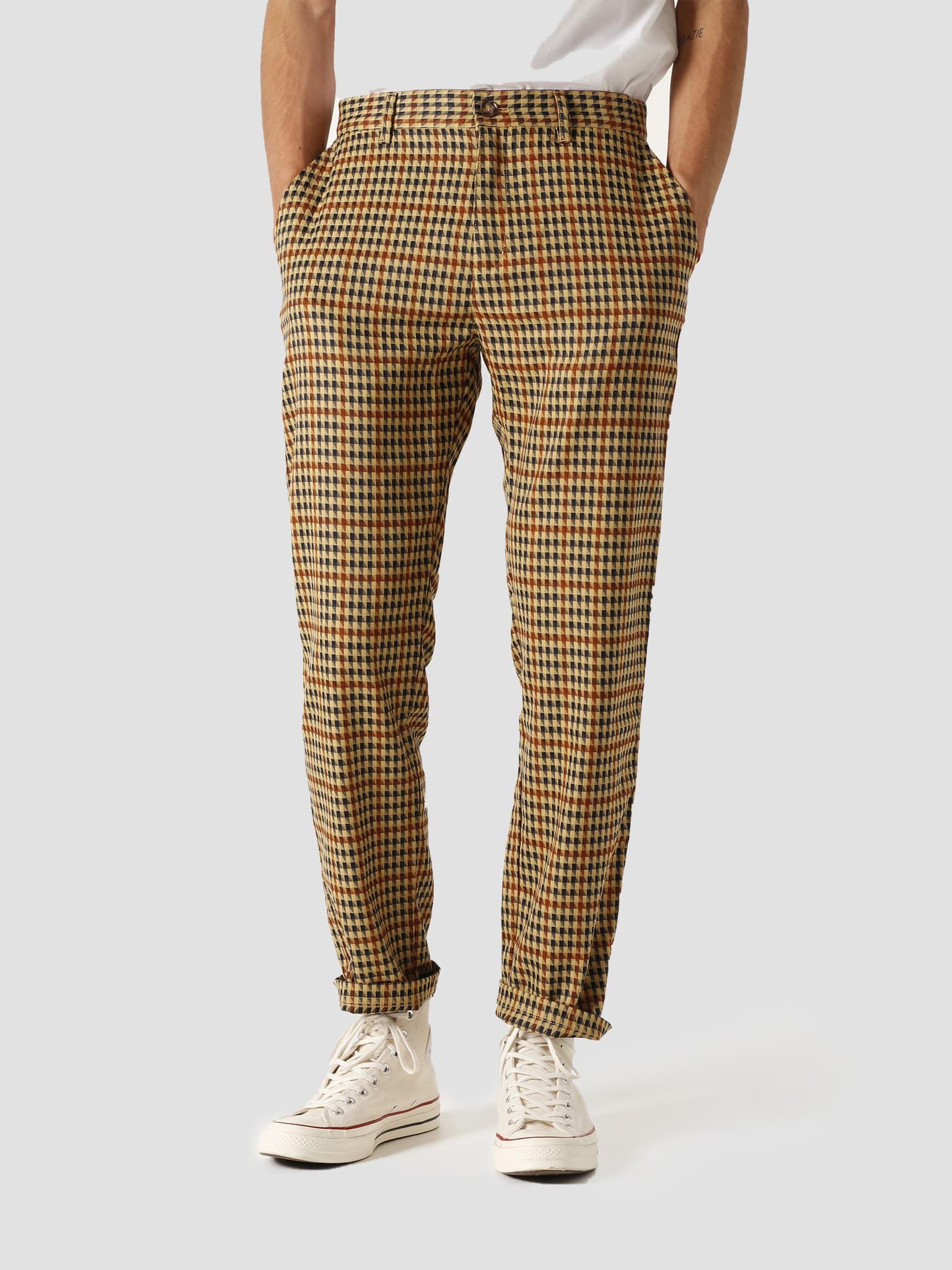 Latte Harris Trousers Brown