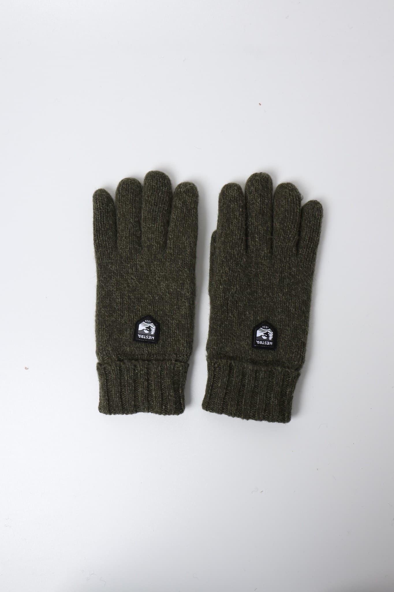 Basic Wool Glove Olive 63660-870