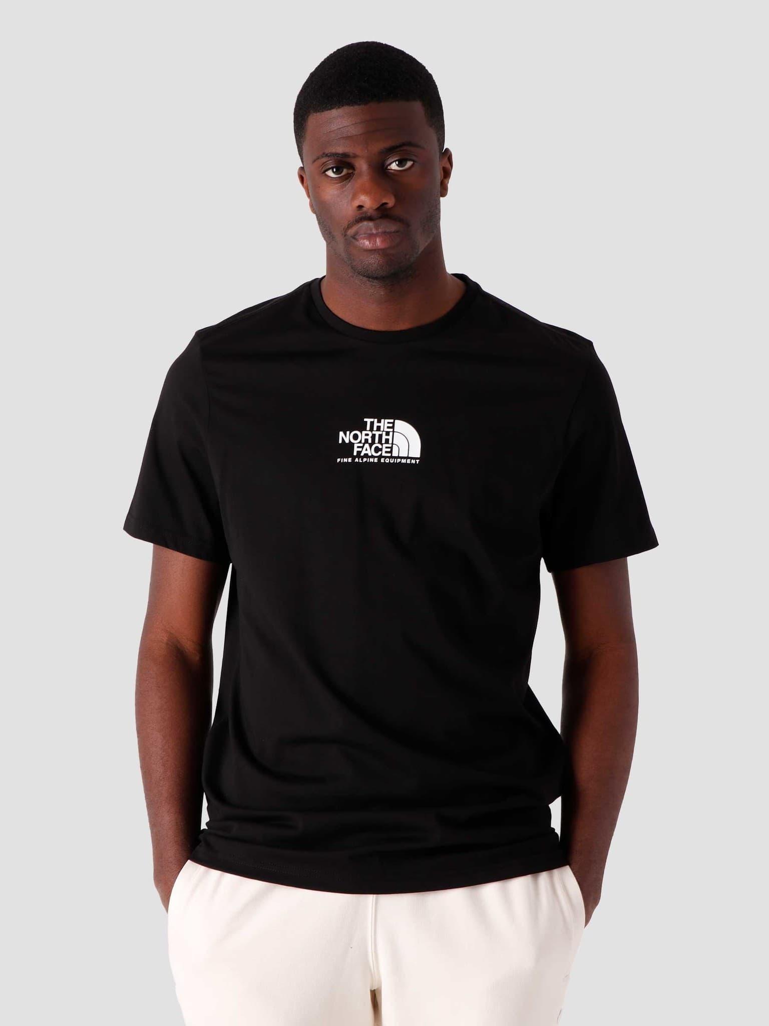 Fine Alpine Equipment T-Shirt Black NF0A4SZUJK3