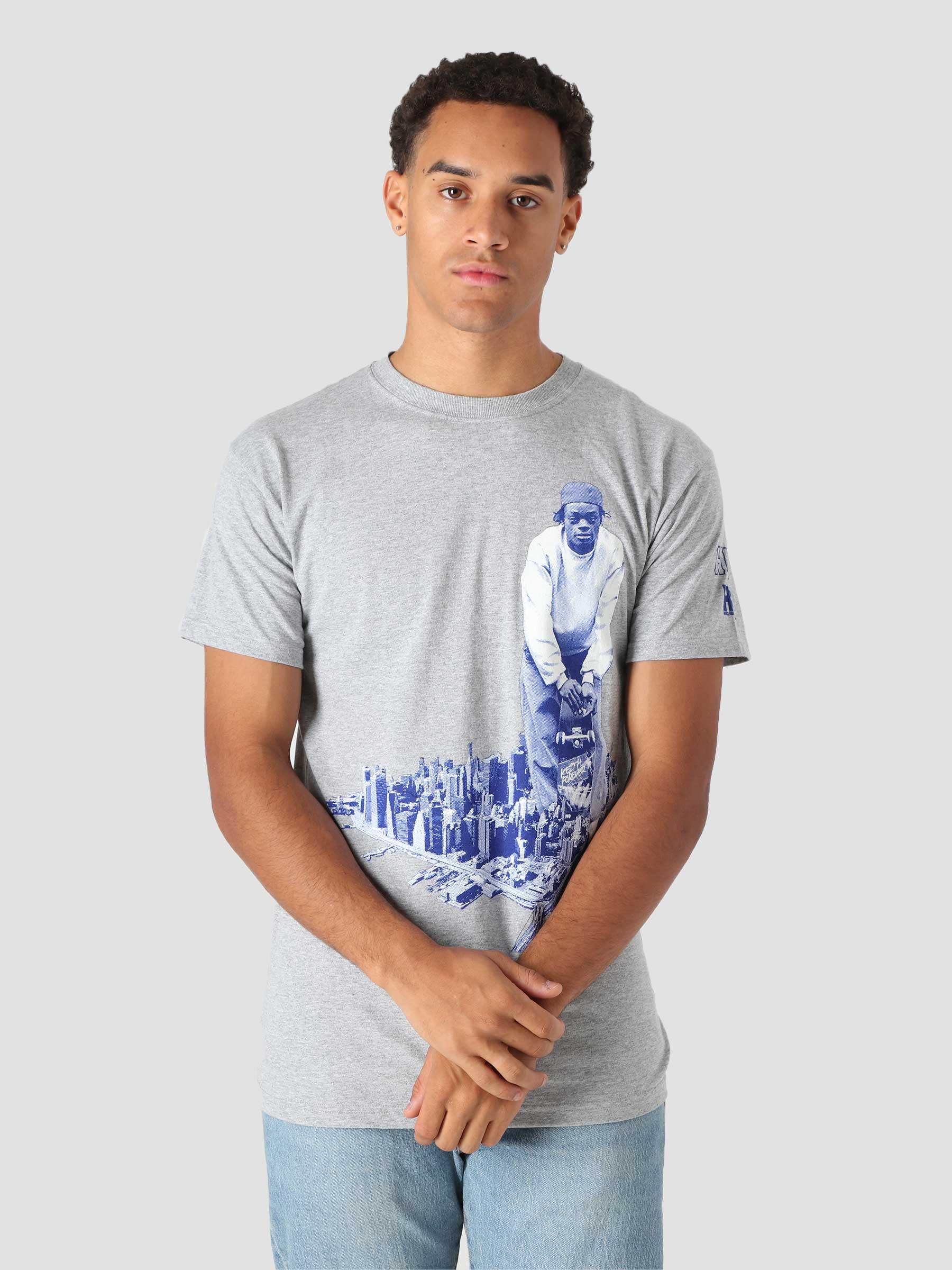 x Harold Hunter T-Shirt Grey TS01771-GYHTR