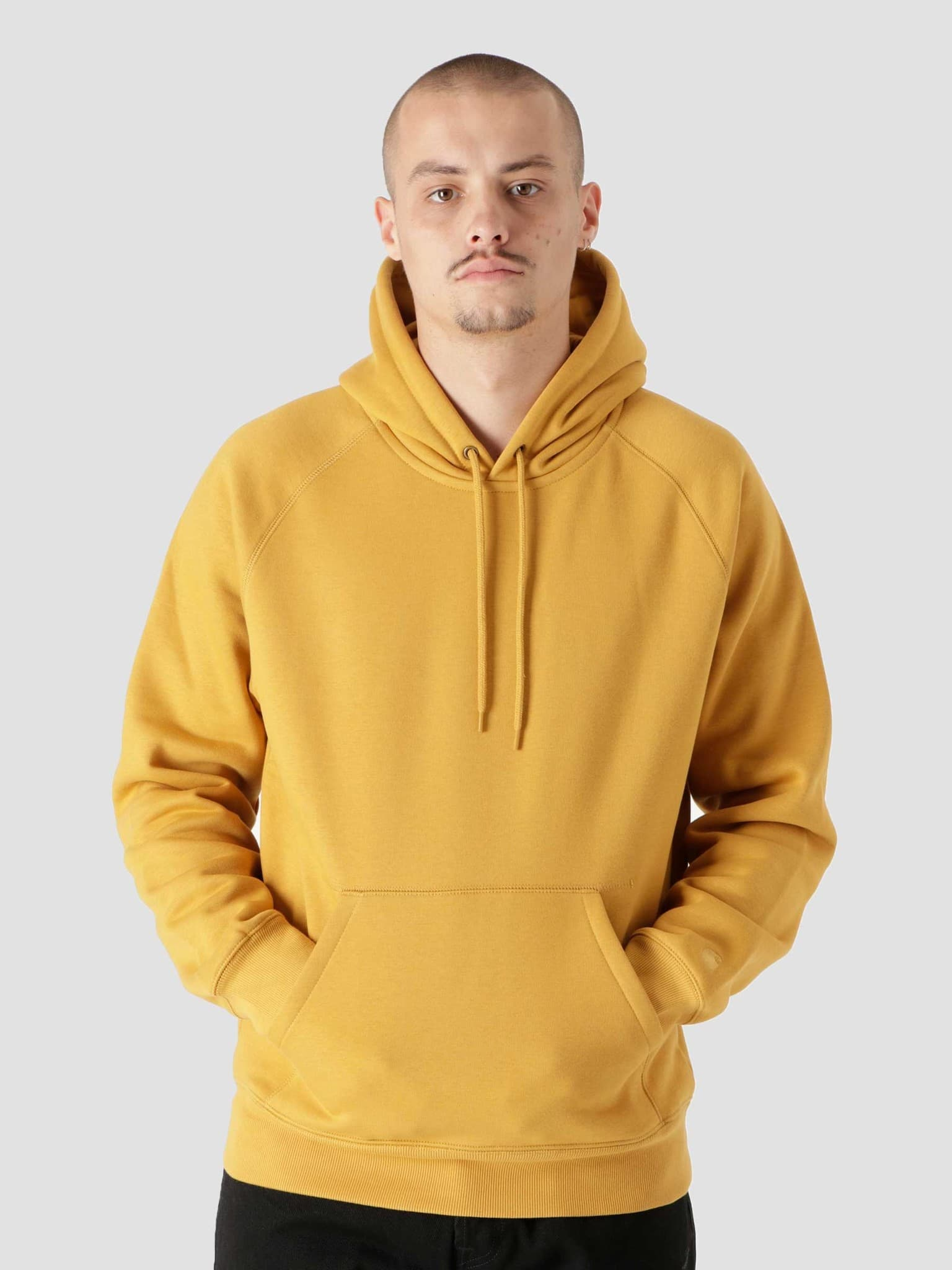 Hooded Chase Sweat Helios Gold I026384
