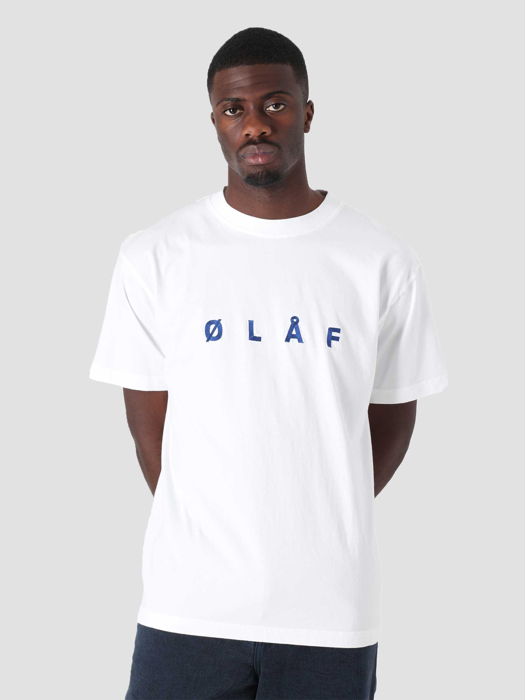 OLAF Chainstitch T-Shirt White
