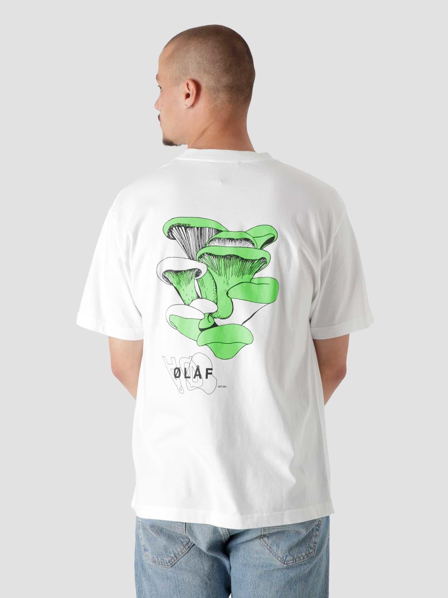 OLAF Fungi T-Shirt White