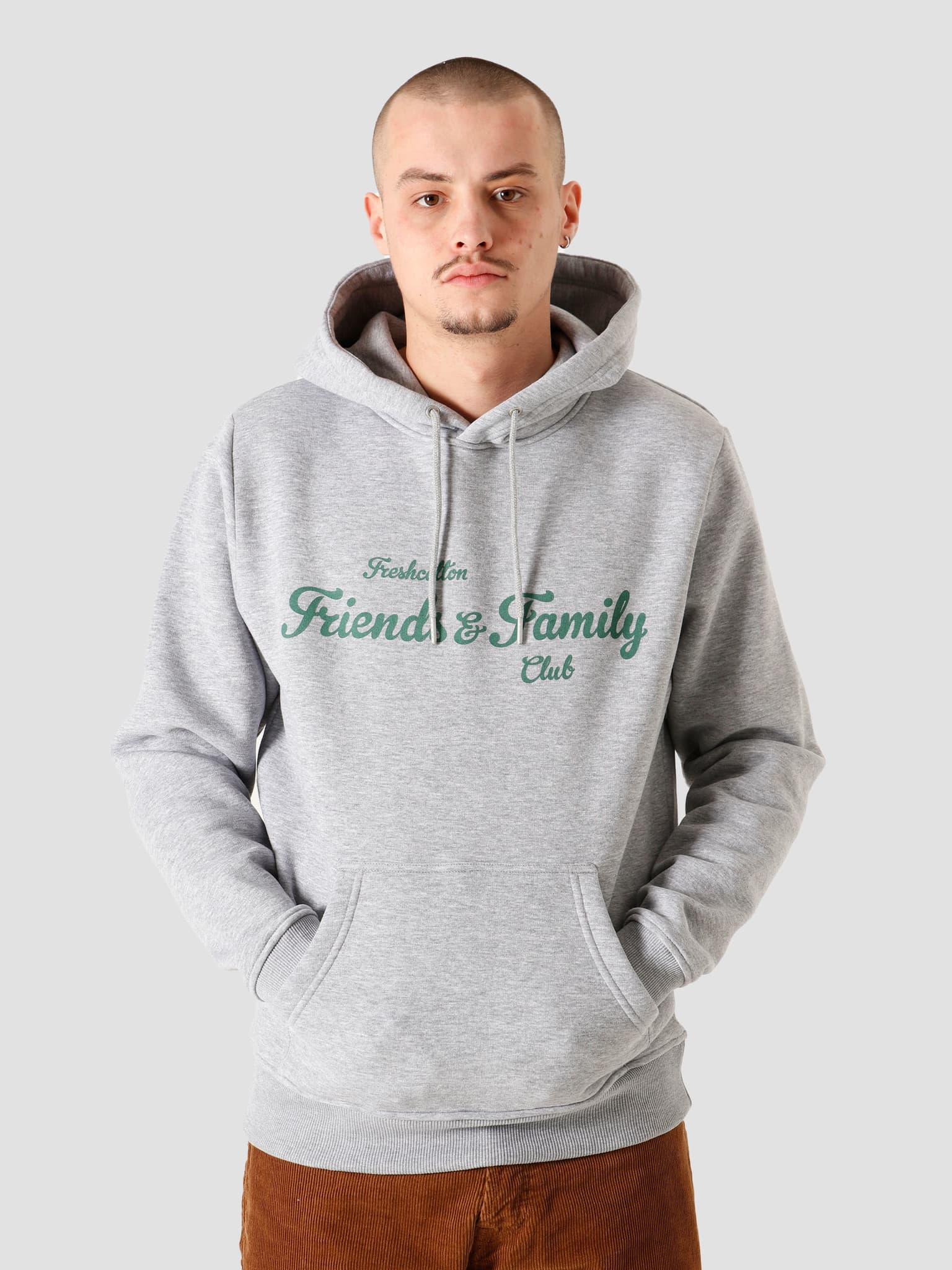 Freshcotton Friends & Family Hoodie Grey
