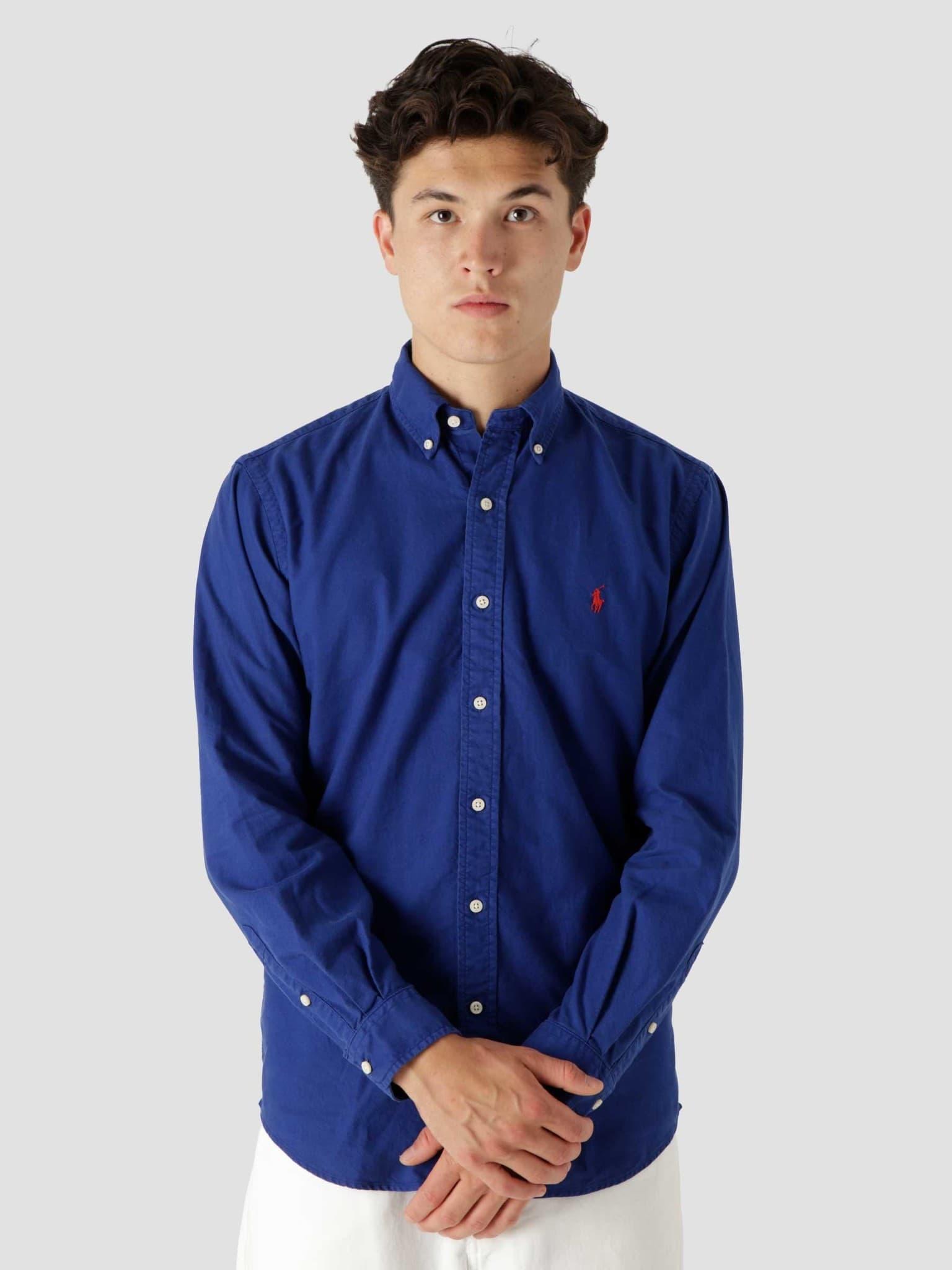 Gd Oxford Shirt Sporting Royal 710805564019